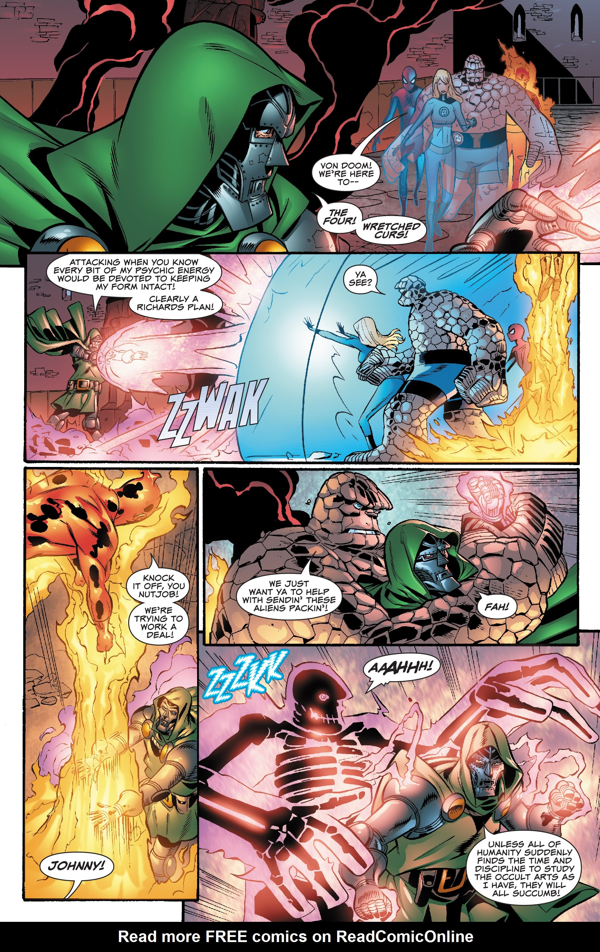 Spider-Man and the Fantastic Four issue 3 - Page 19