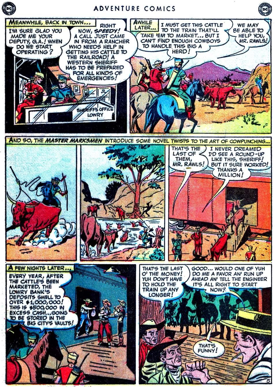 Read online Adventure Comics (1938) comic -  Issue #163 - 43