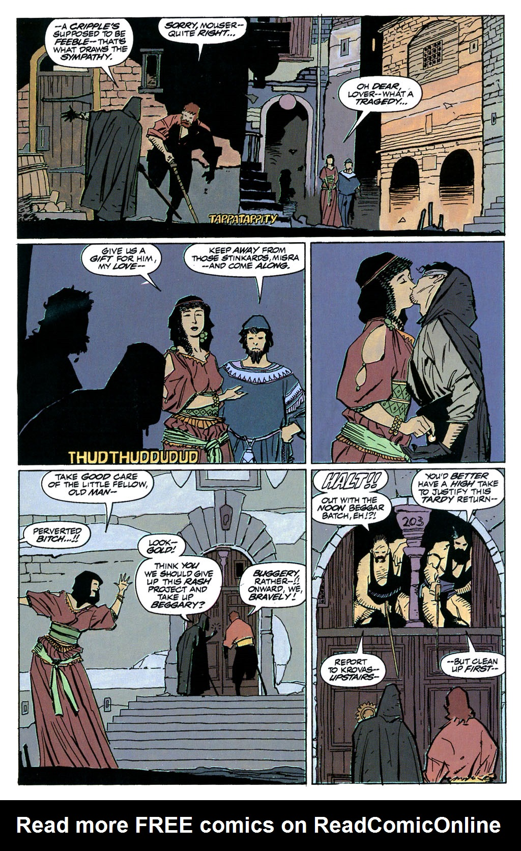 Read online Fafhrd and the Gray Mouser comic -  Issue #1 - 19