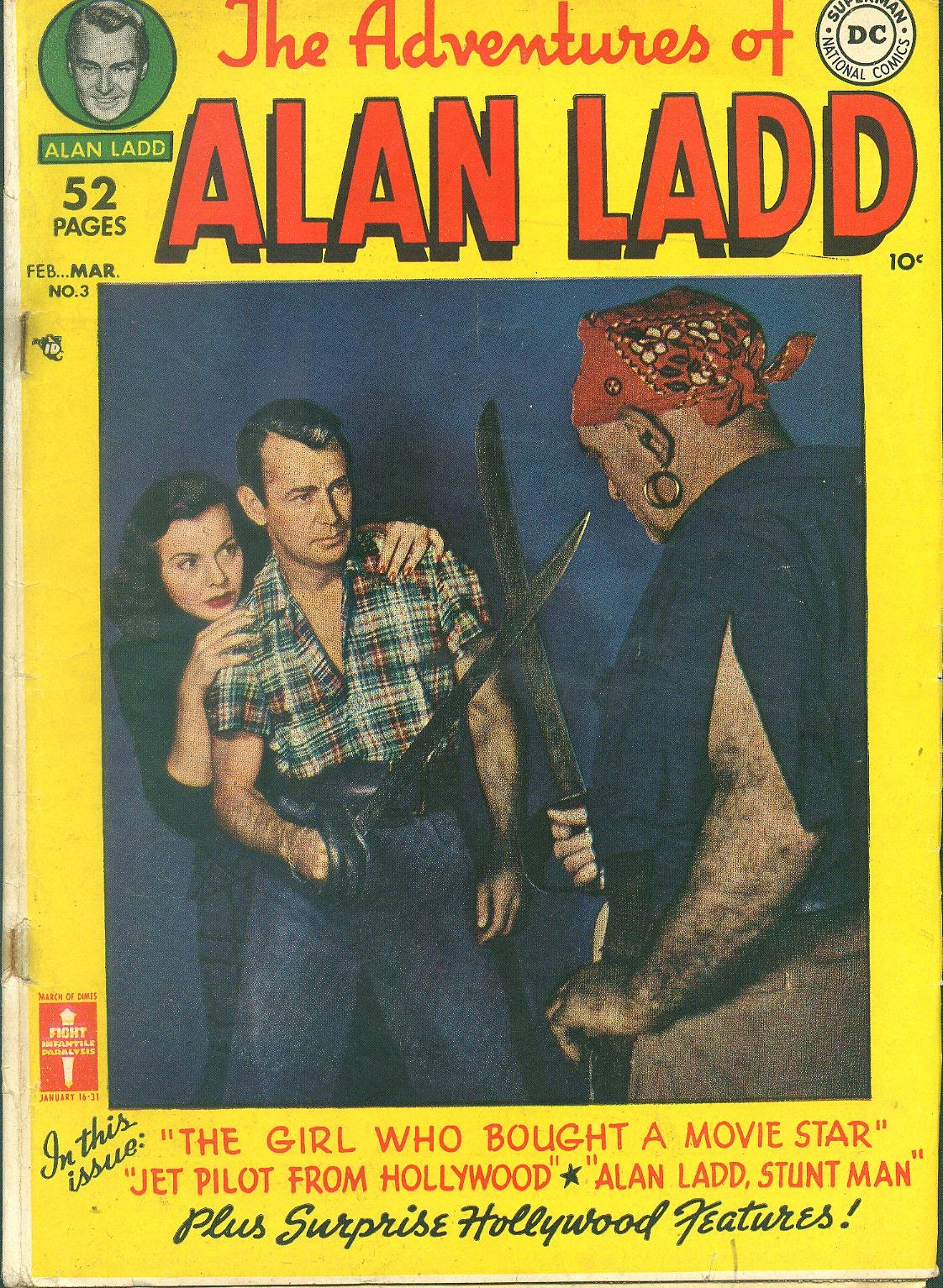 Adventures of Alan Ladd issue 3 - Page 1