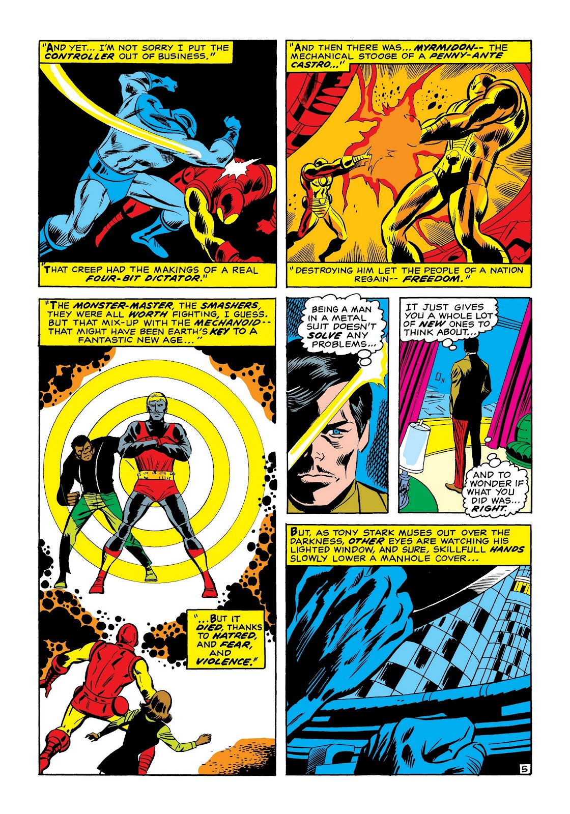 Read online Marvel Masterworks: The Invincible Iron Man comic -  Issue # TPB 7 (Part 2) - 54