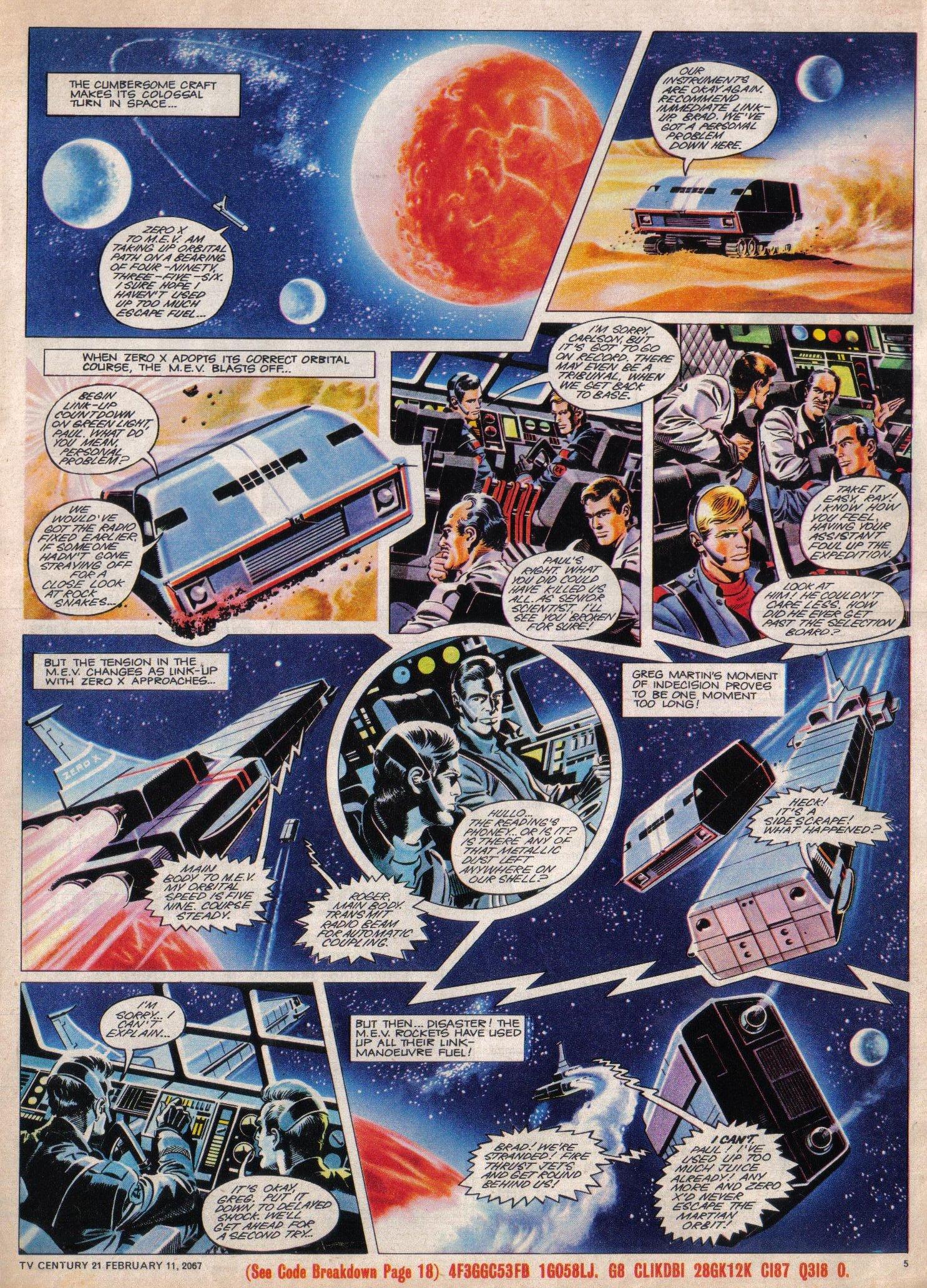 Read online TV Century 21 (TV 21) comic -  Issue #108 - 5