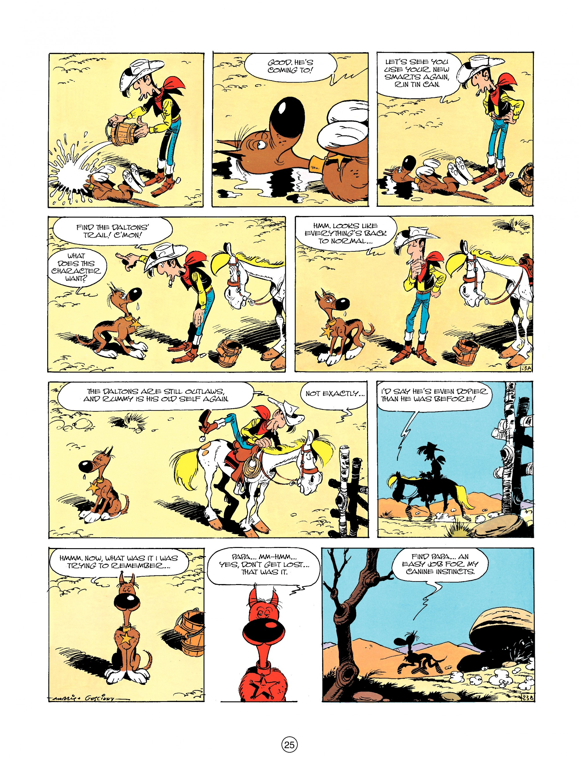 Read online A Lucky Luke Adventure comic -  Issue #23 - 25