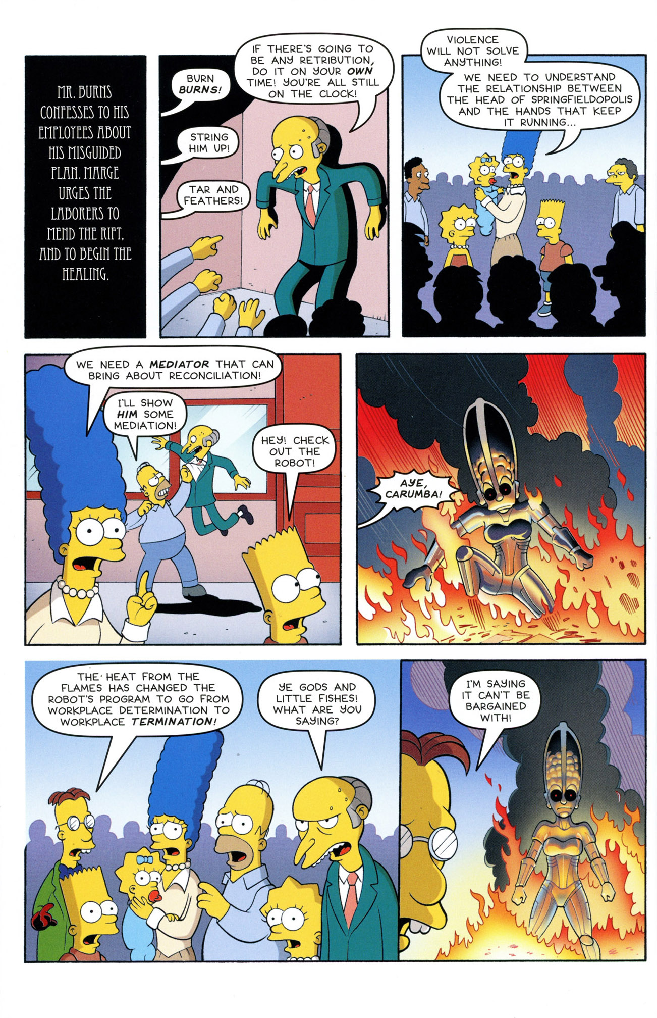 Read online Treehouse of Horror comic -  Issue #21 - 46