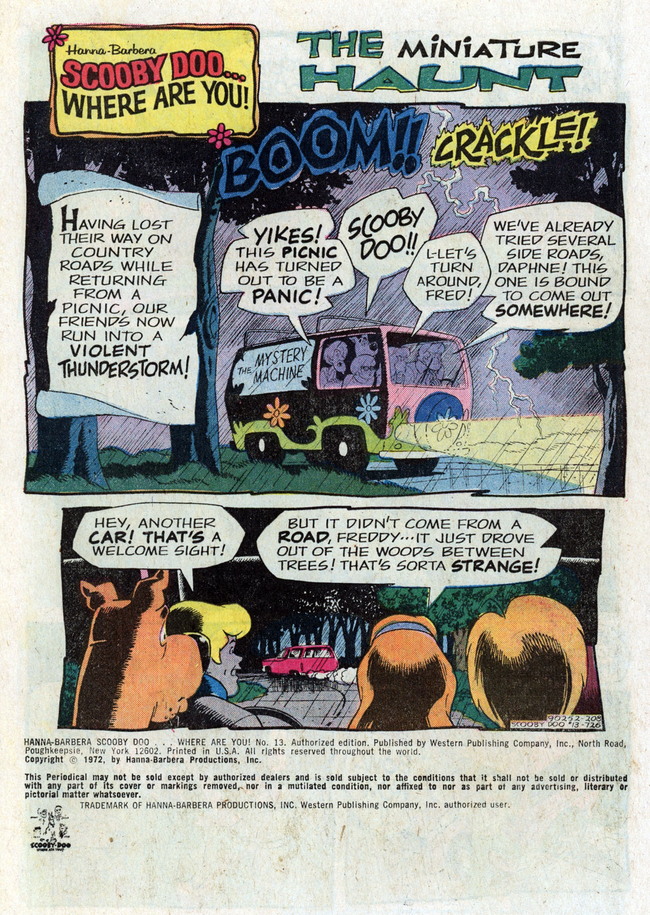 Read online Scooby-Doo... Where Are You! (1970) comic -  Issue #13 - 2