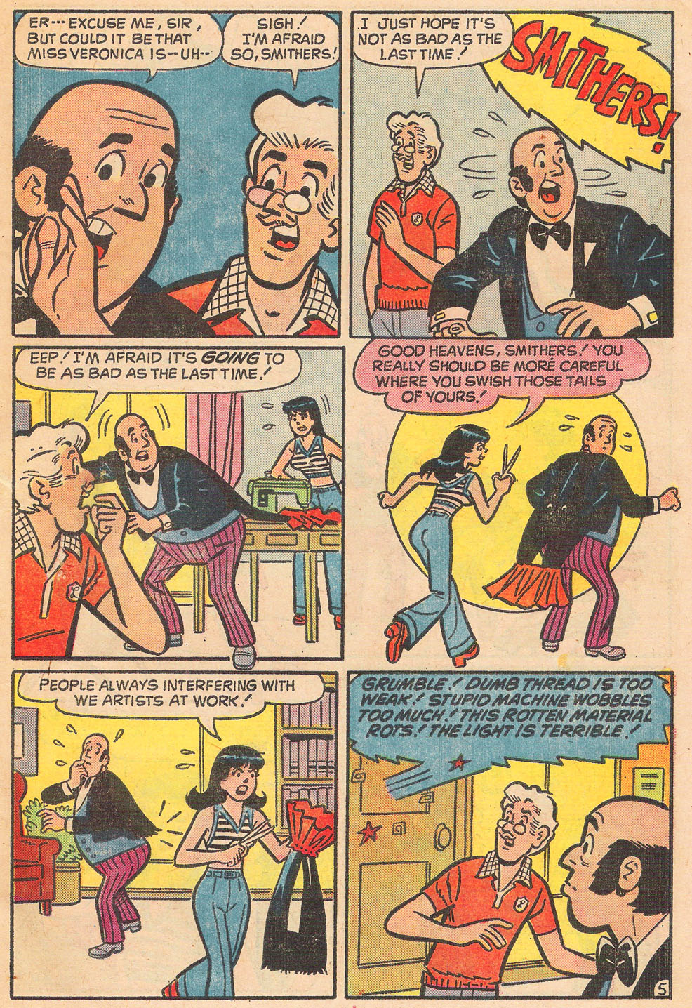 Read online Archie's Girls Betty and Veronica comic -  Issue #236 - 7