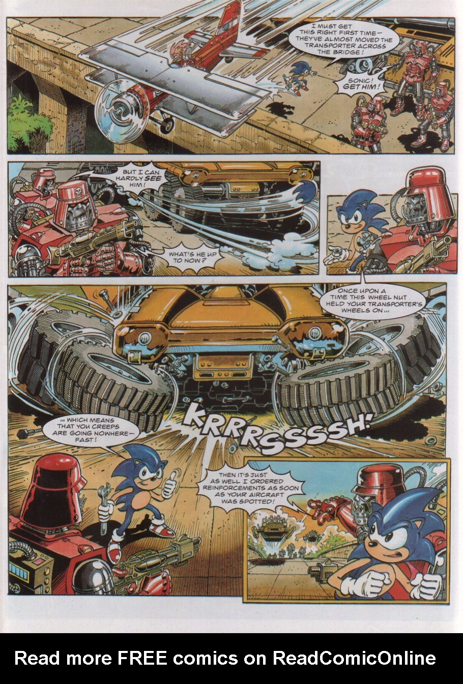 Read online Sonic the Comic comic -  Issue #44 - 6
