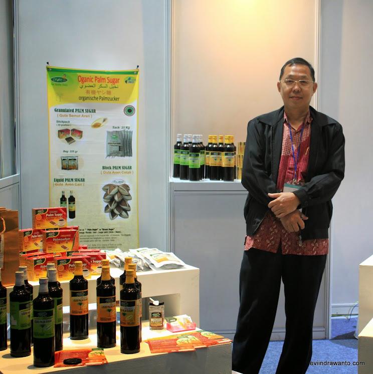 penjual gula merah organik