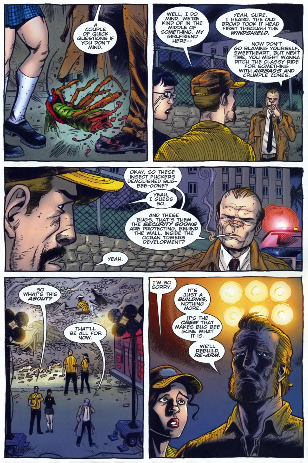 Read online The Exterminators comic -  Issue #29 - 4