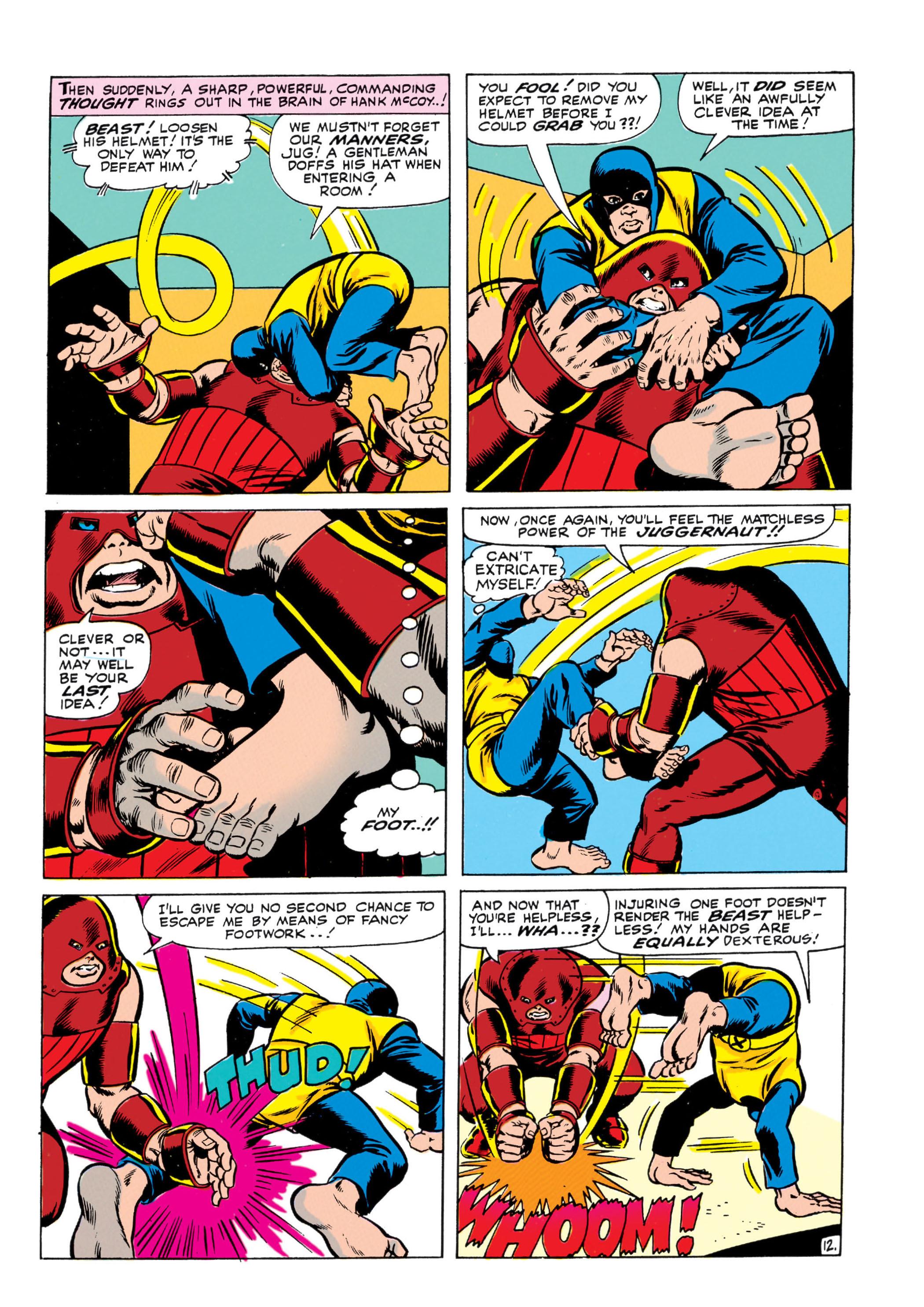 Read online Uncanny X-Men (1963) comic -  Issue #13 - 13