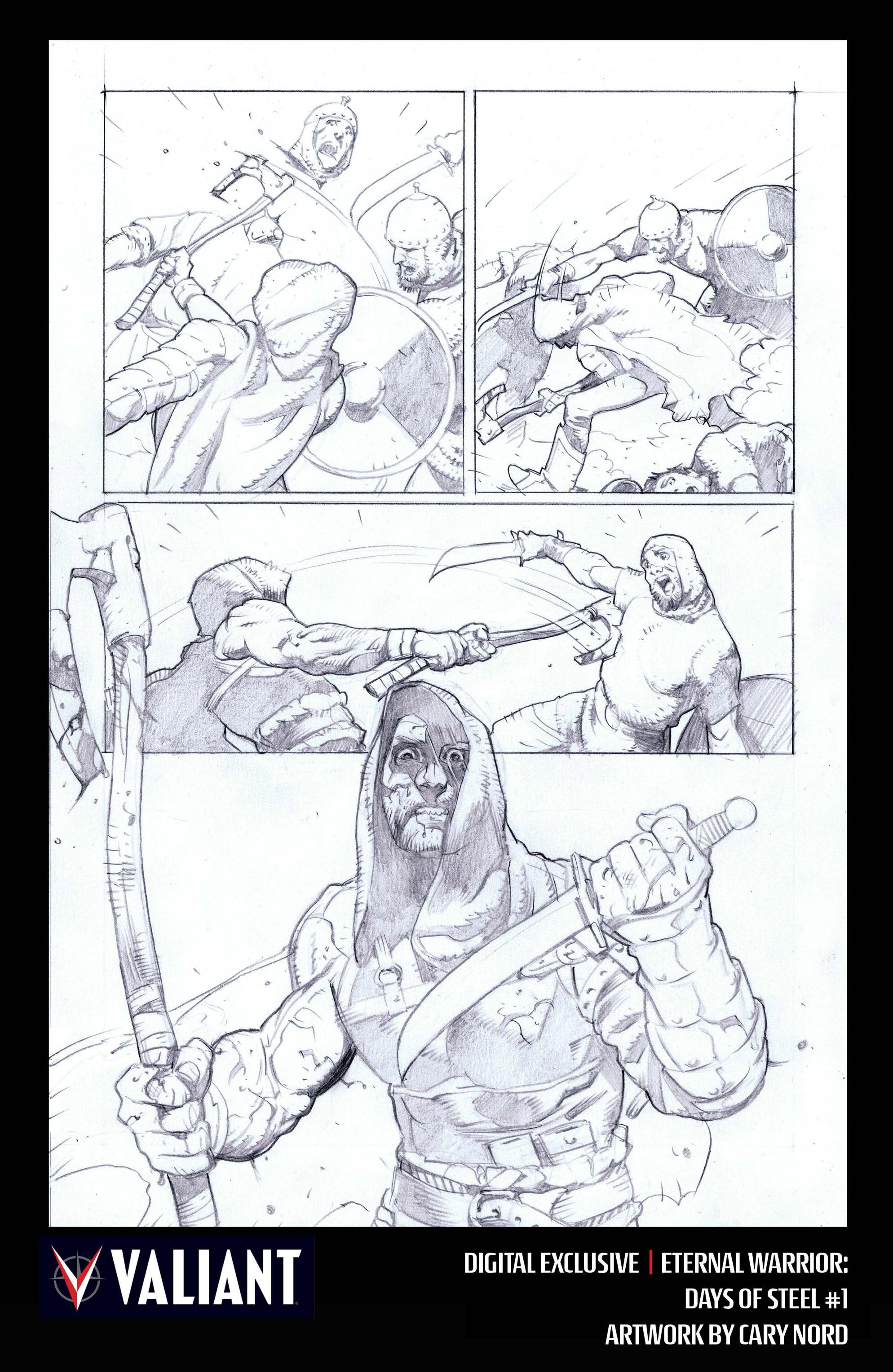 Read online Eternal Warrior: Days of Steel comic -  Issue #1 - 33