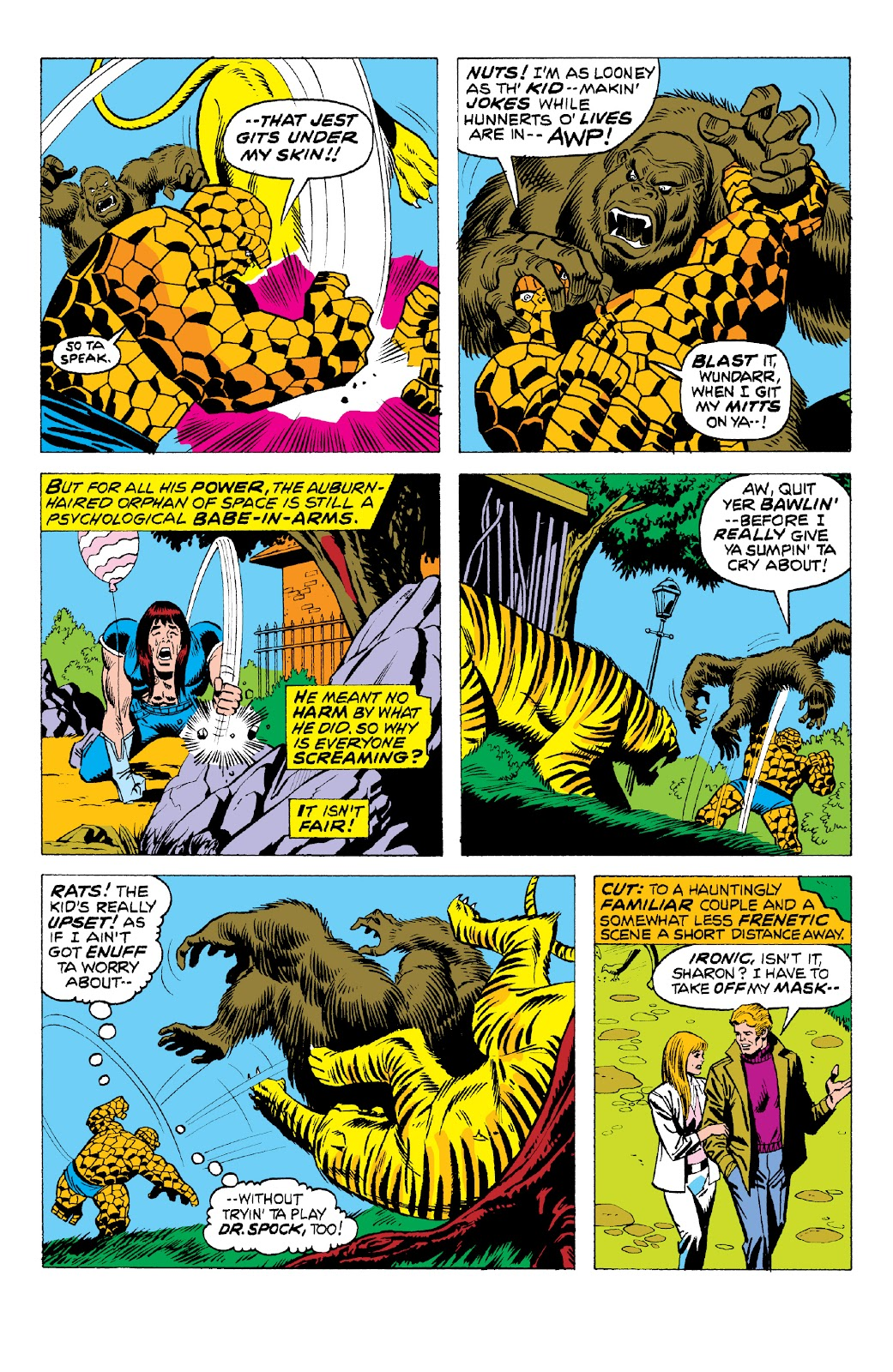 Read online Marvel Two-In-One Epic Collection: Cry Monster comic -  Issue # TPB (Part 2) - 9