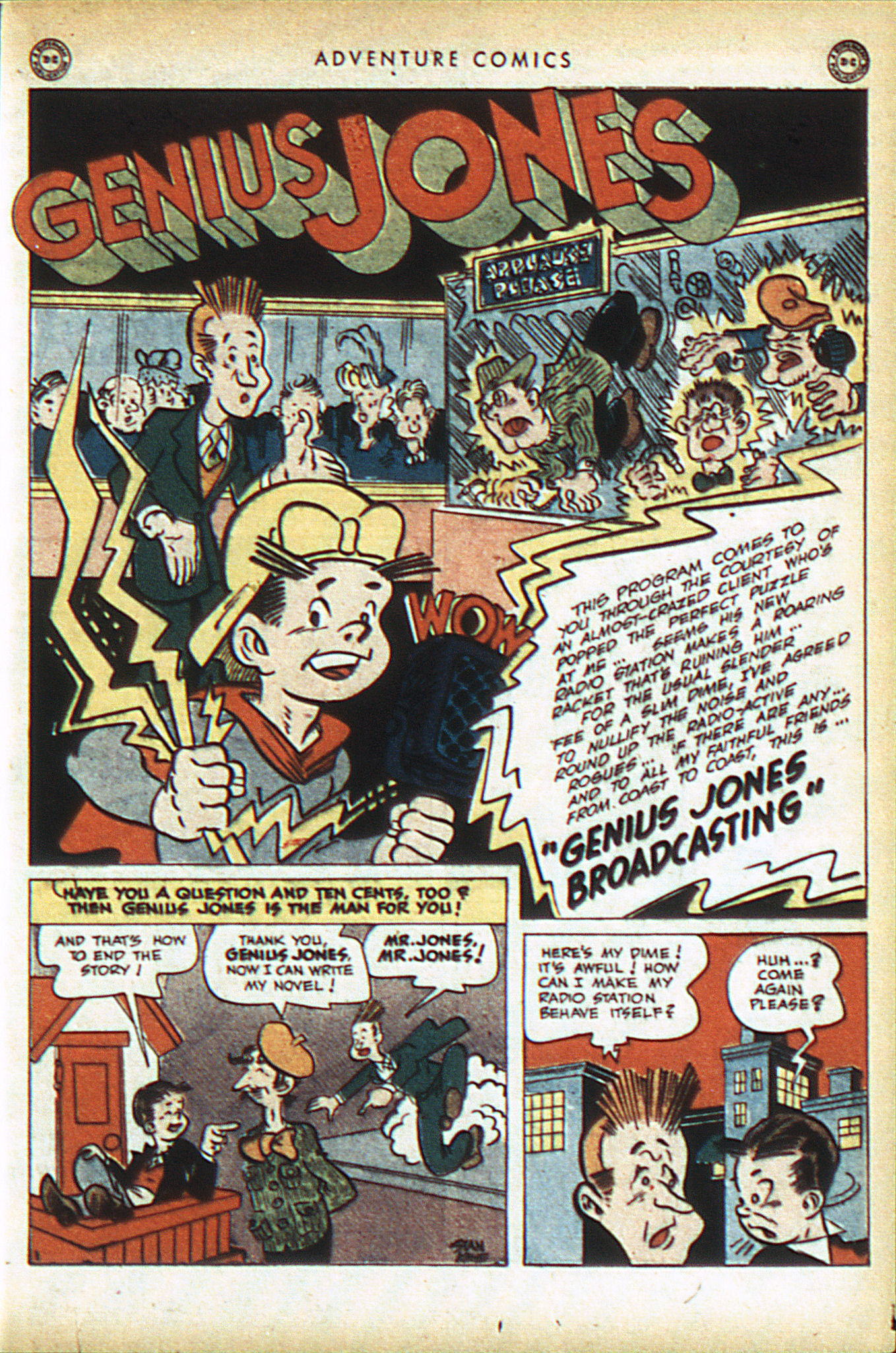 Read online Adventure Comics (1938) comic -  Issue #93 - 36