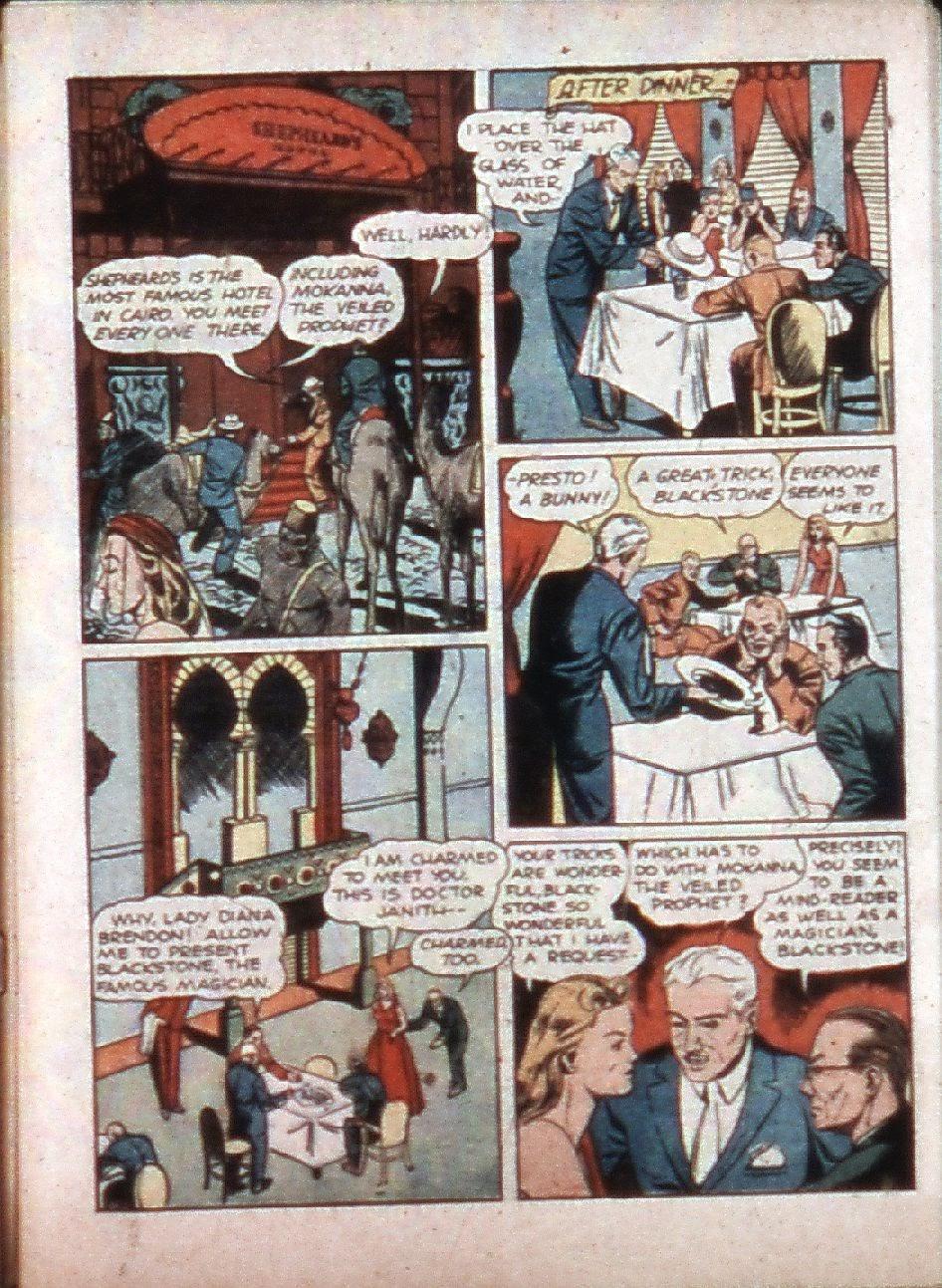 Read online Super-Magician Comics comic -  Issue #3 - 5