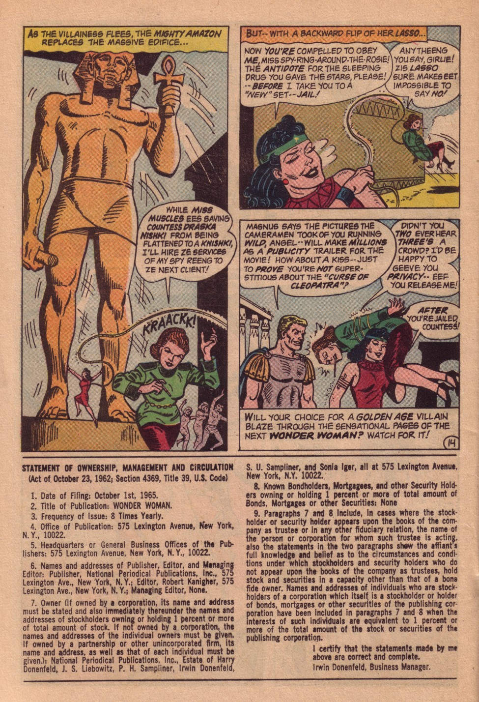 Read online Wonder Woman (1942) comic -  Issue #161 - 20