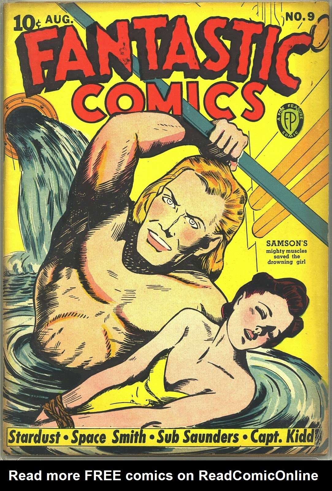Read online Fantastic Comics comic -  Issue #9 - 1