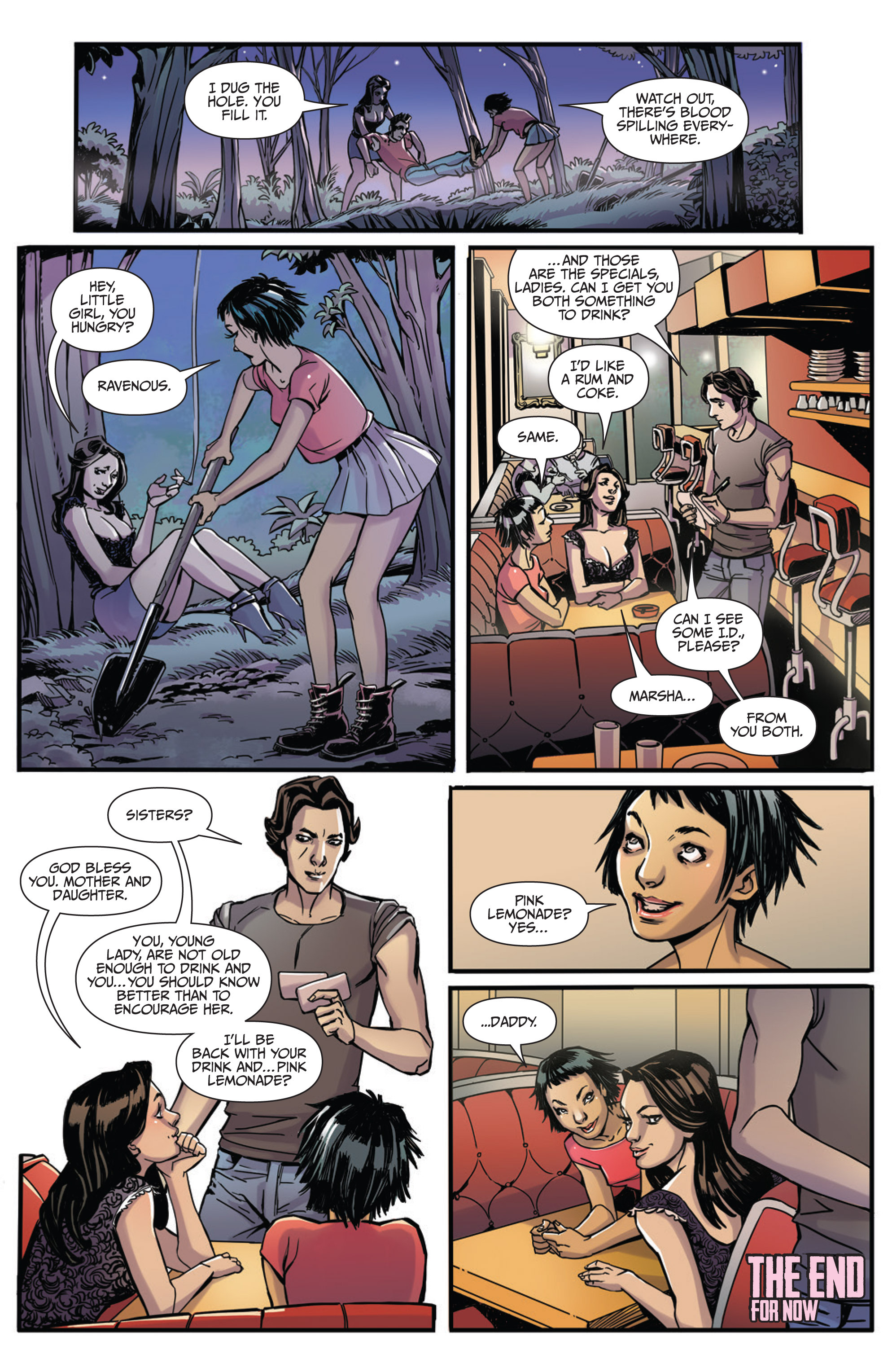 Read online Sex and Violence Vol. 2 comic -  Issue # Full - 13
