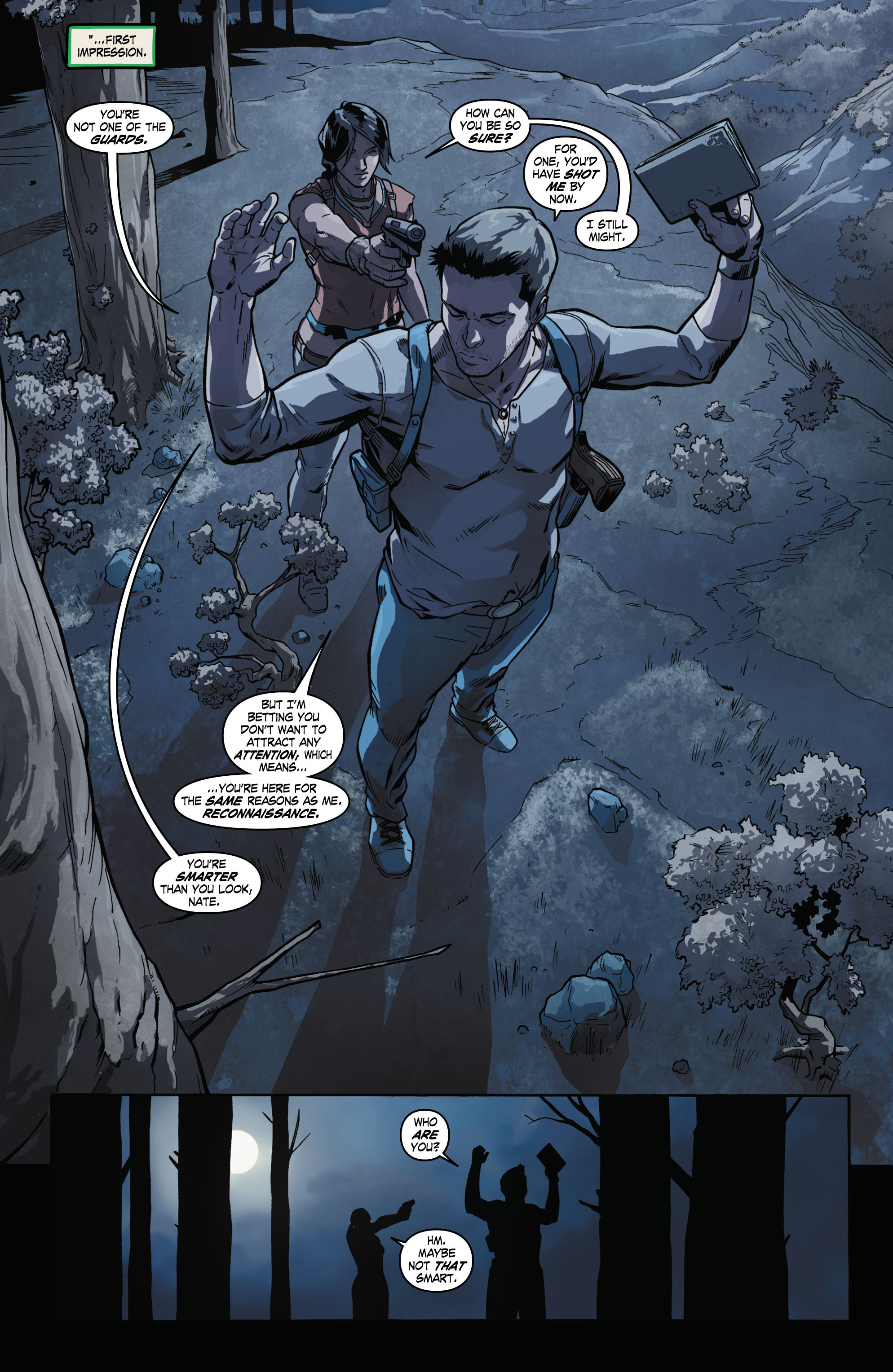 Read online Uncharted comic -  Issue #2 - 4
