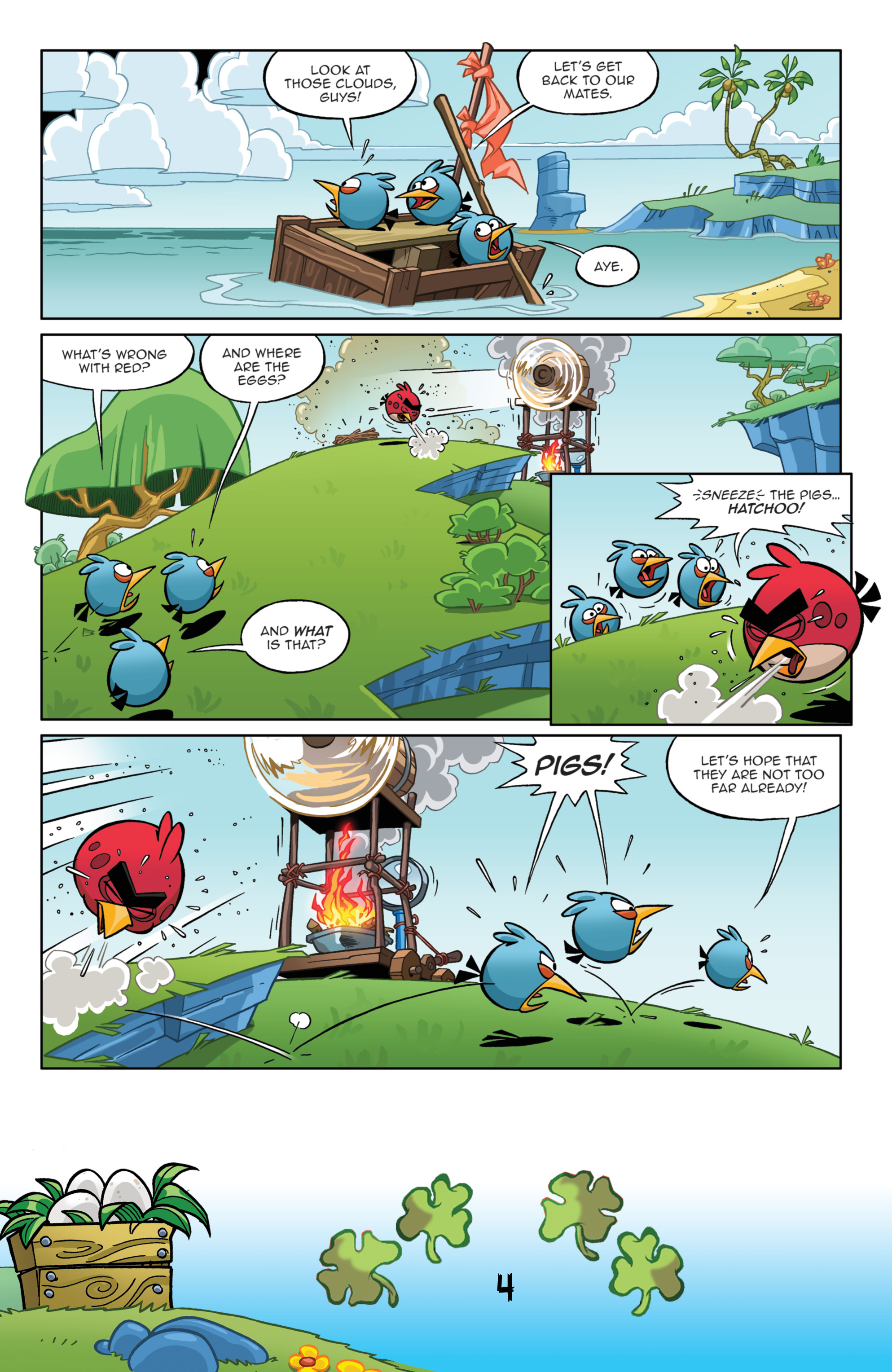 Read online Angry Birds Comics (2016) comic -  Issue #3 - 6