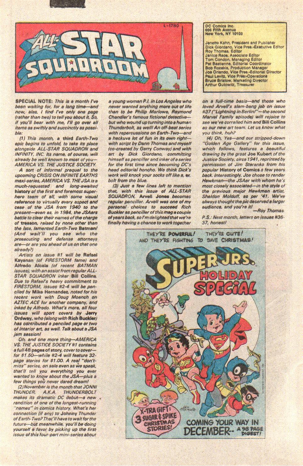 Read online All-Star Squadron comic -  Issue #41 - 32