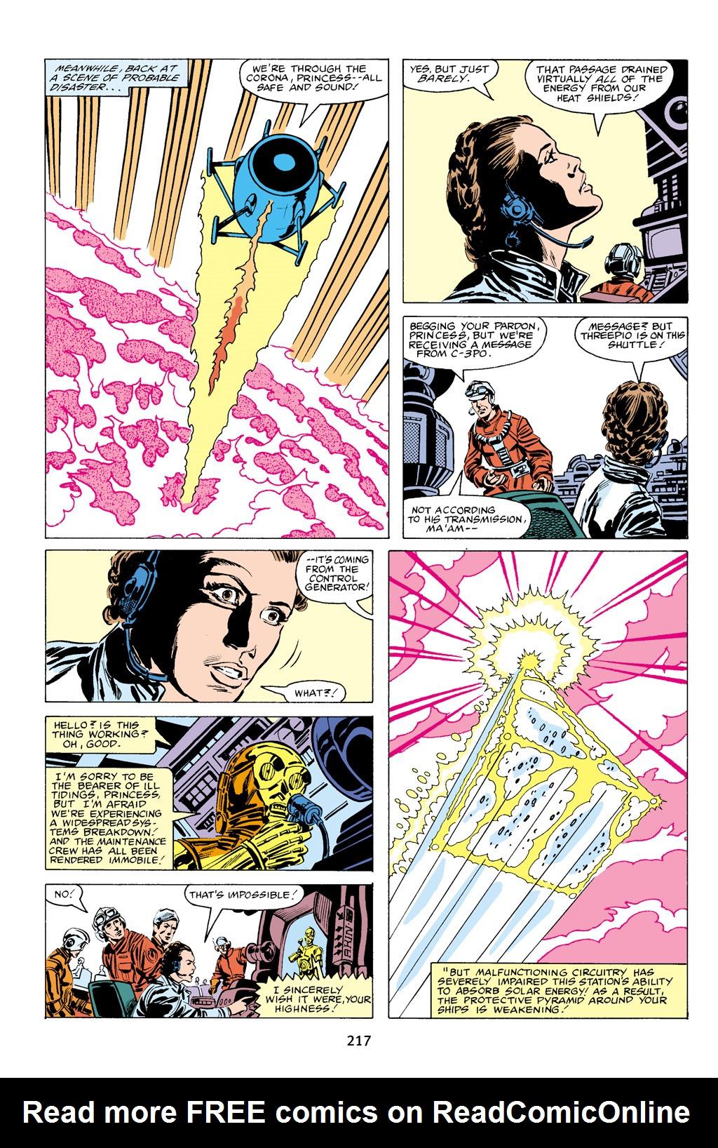 Read online Star Wars Omnibus comic -  Issue # Vol. 16 - 214