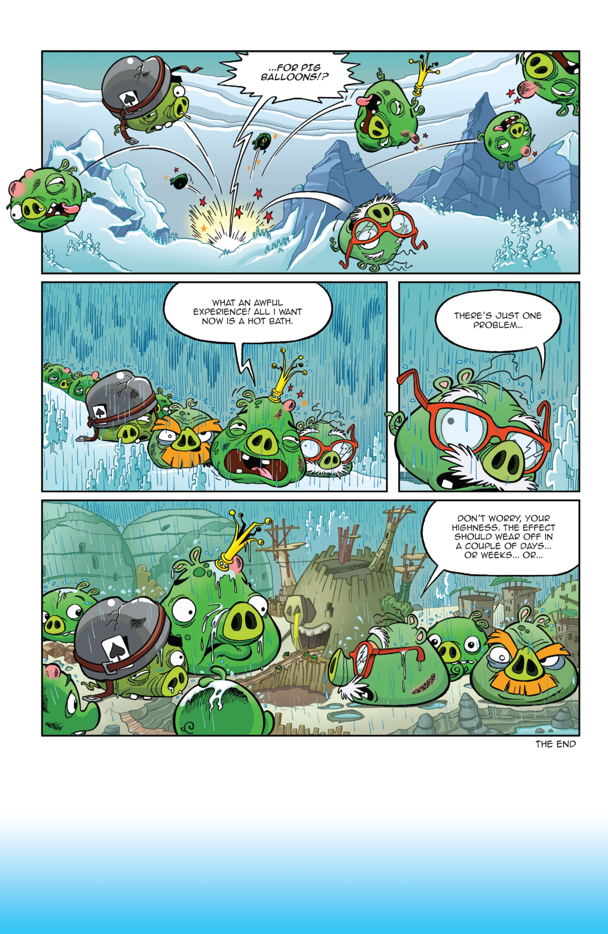 Read online Angry Birds Comics (2014) comic -  Issue #9 - 16