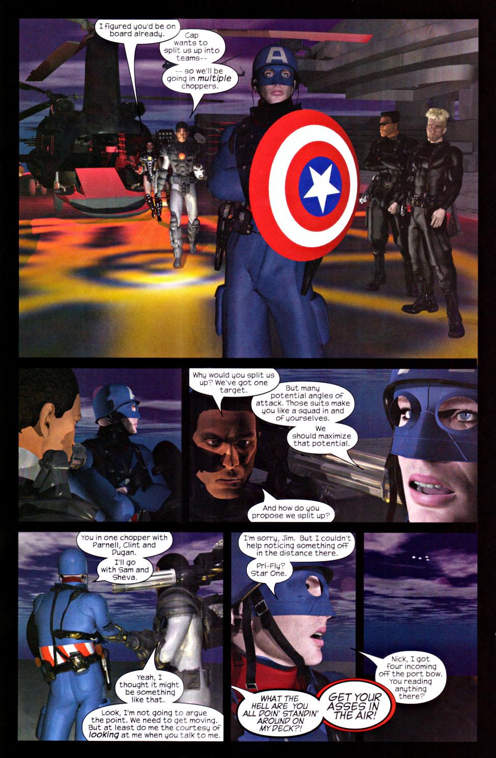 Read online U.S. War Machine 2.0 comic -  Issue #2 - 22