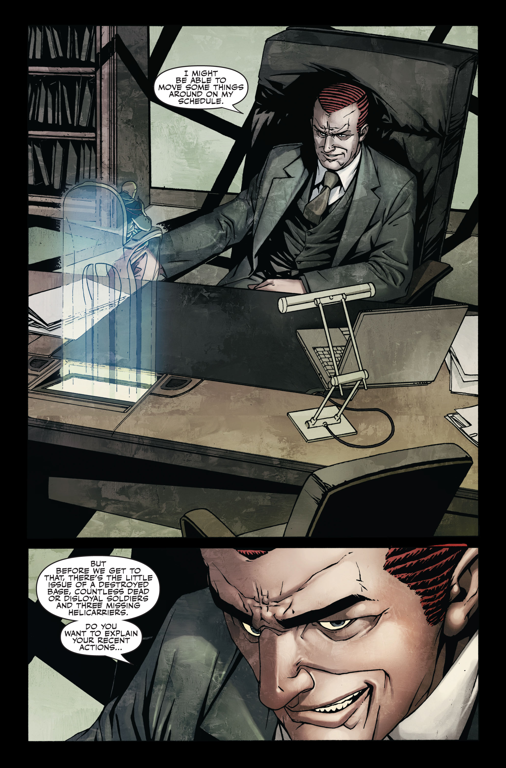 Read online Secret Warriors comic -  Issue #7 - 11