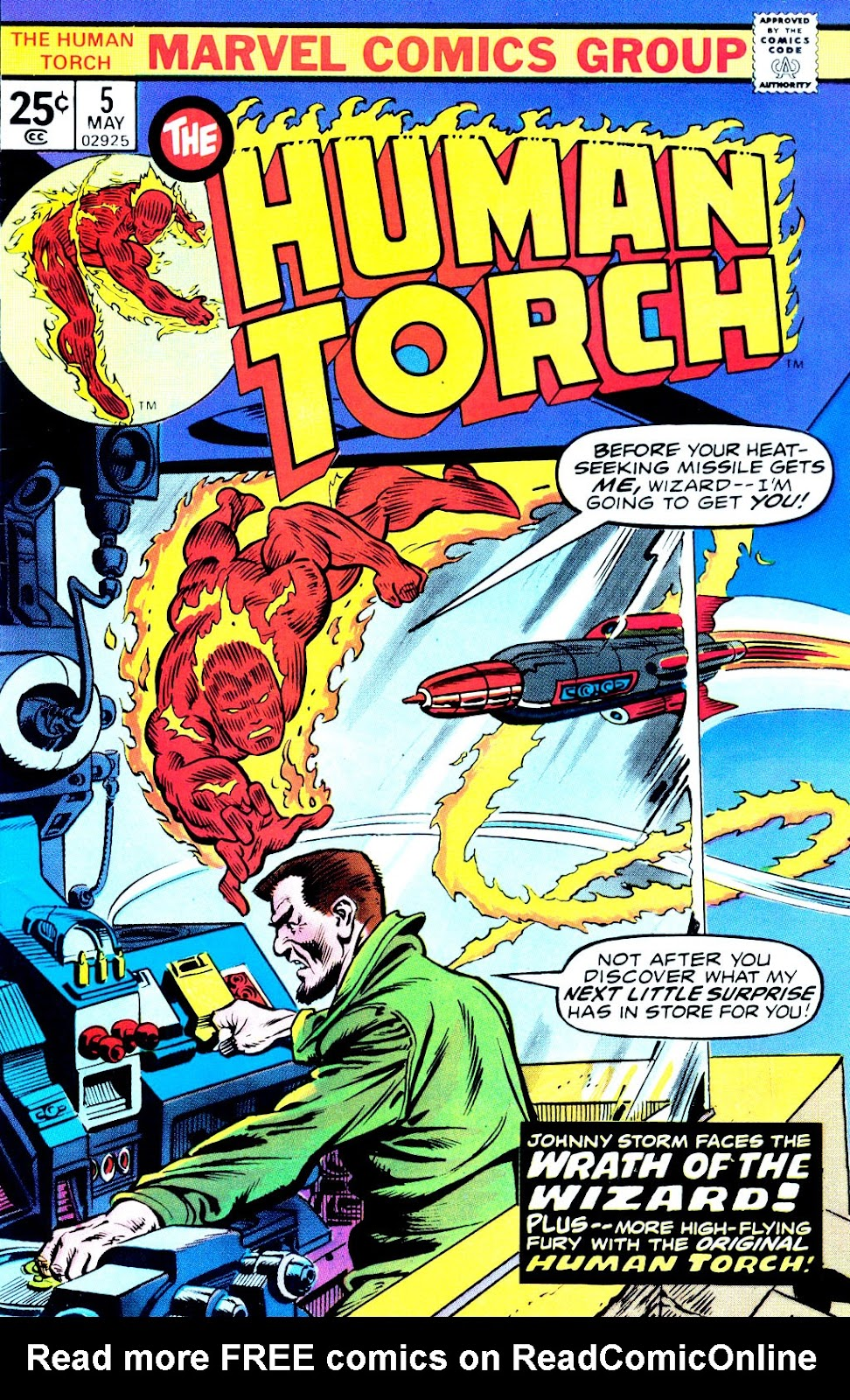 The Human Torch (1974) issue 5 - Page 1