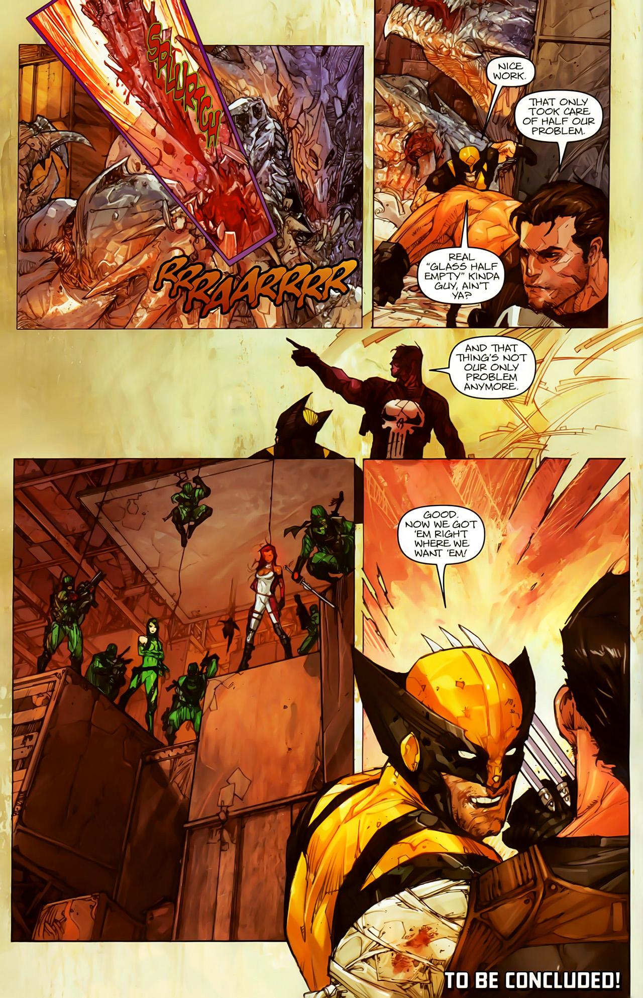 Read online Astonishing Tales (2009) comic -  Issue #5 - 10
