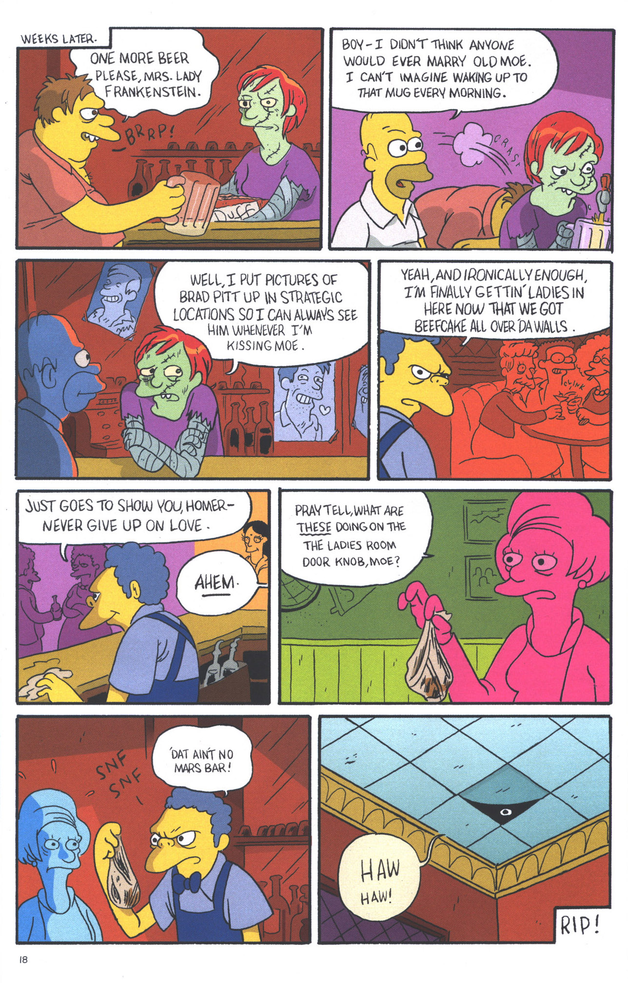 Read online Treehouse of Horror comic -  Issue #15 - 21