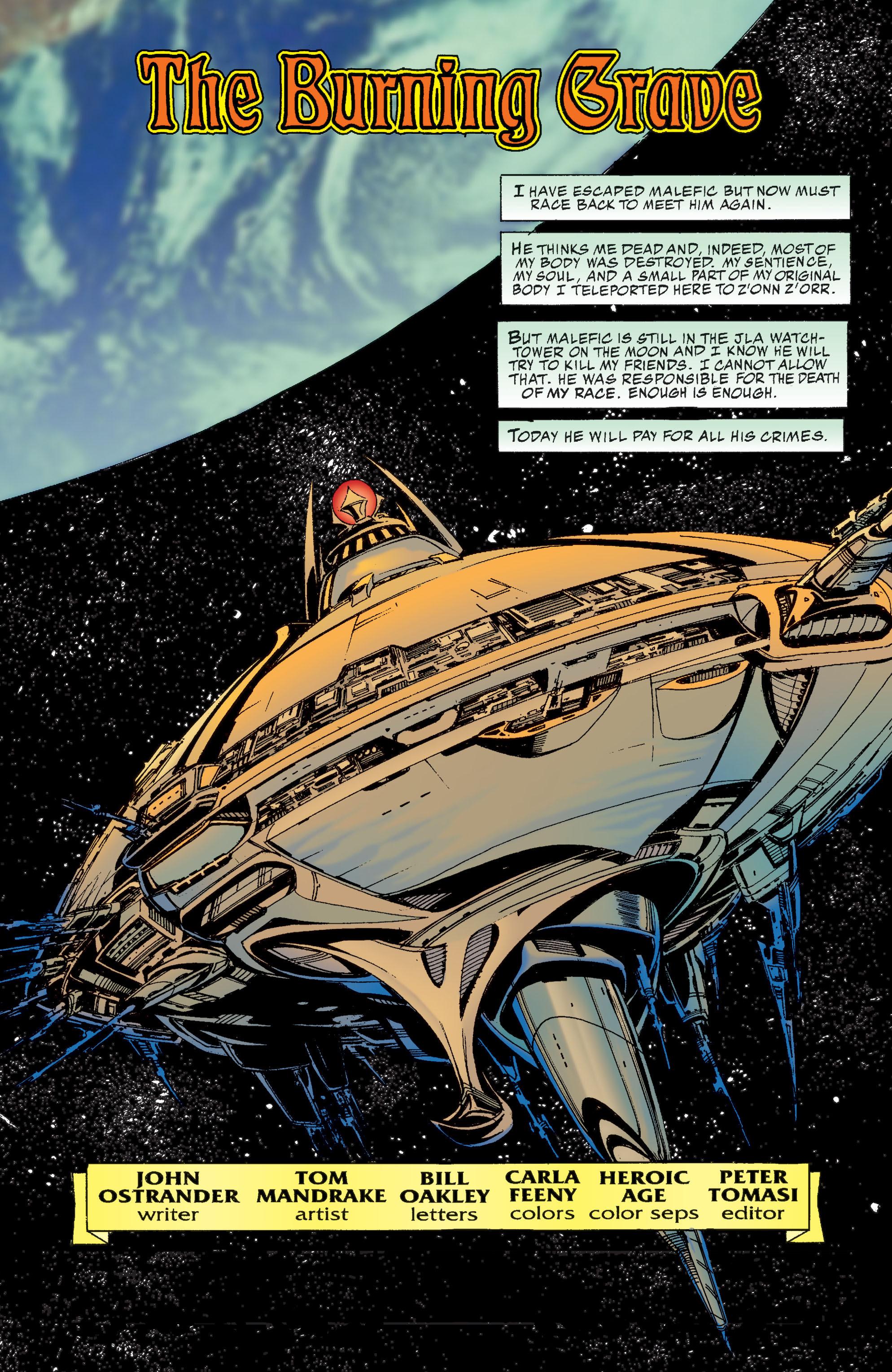 Read online Martian Manhunter: Son of Mars comic -  Issue # TPB - 213