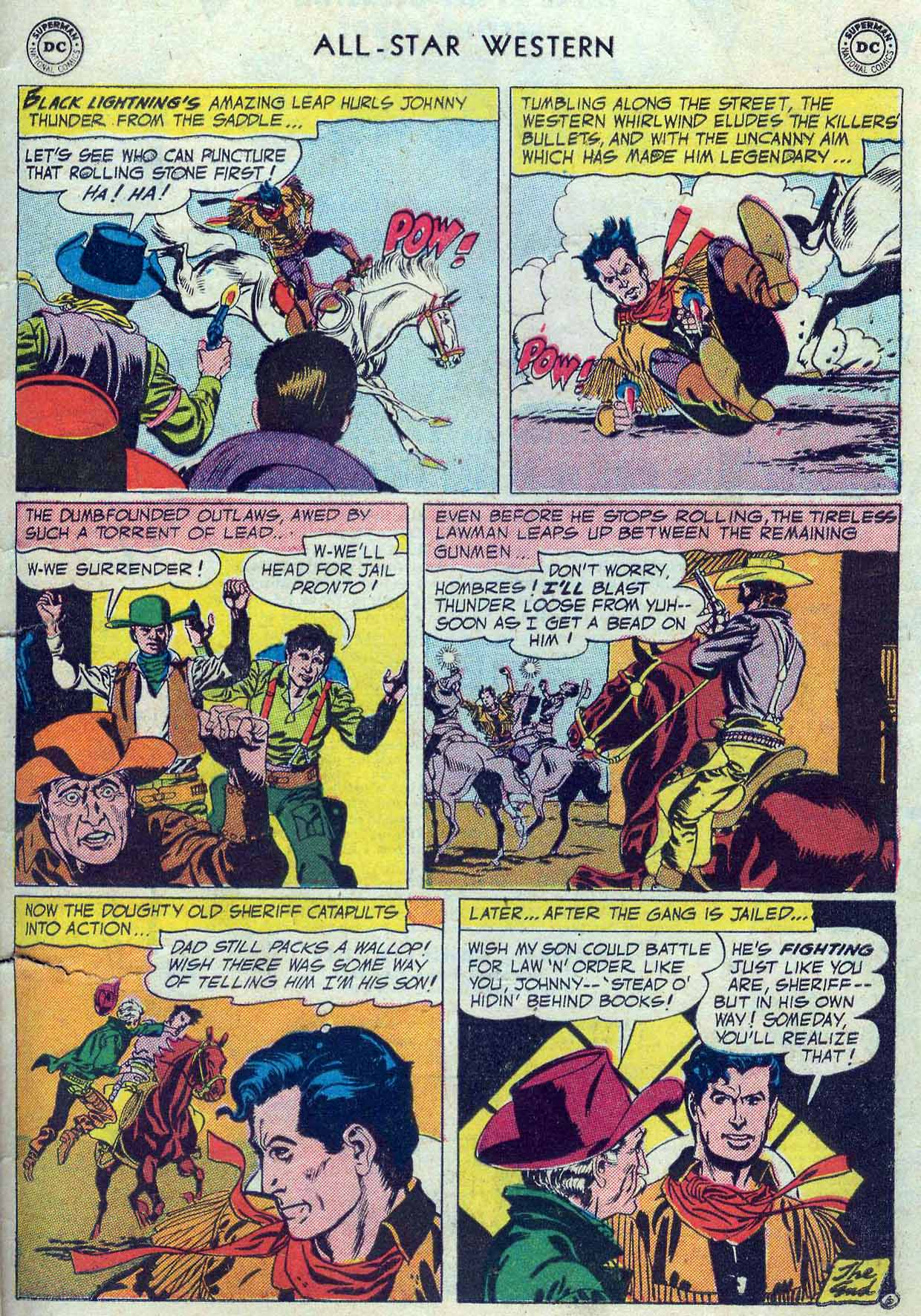 Read online All-Star Western (1951) comic -  Issue #85 - 33