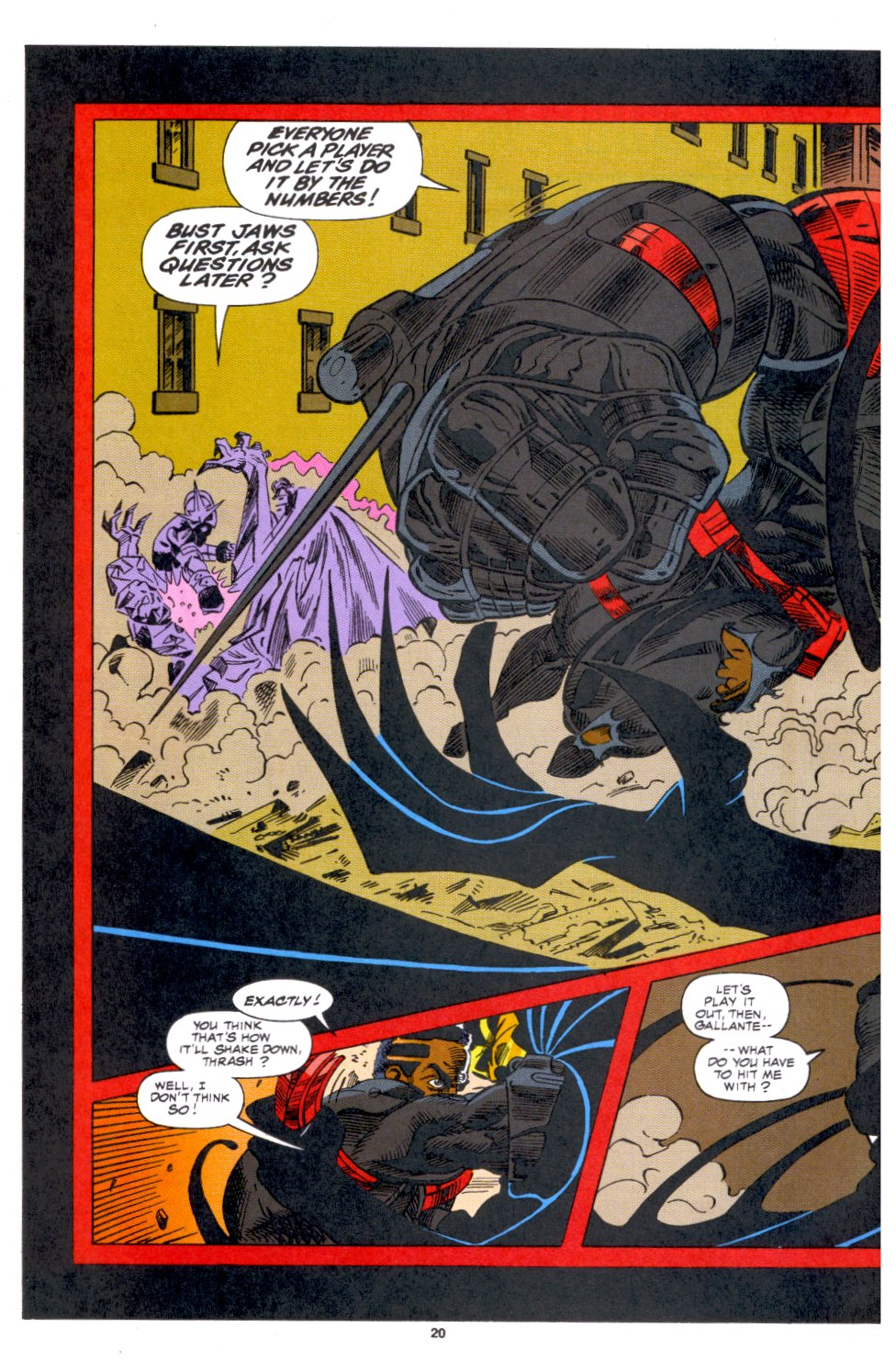 The New Warriors Issue #53 #57 - English 14