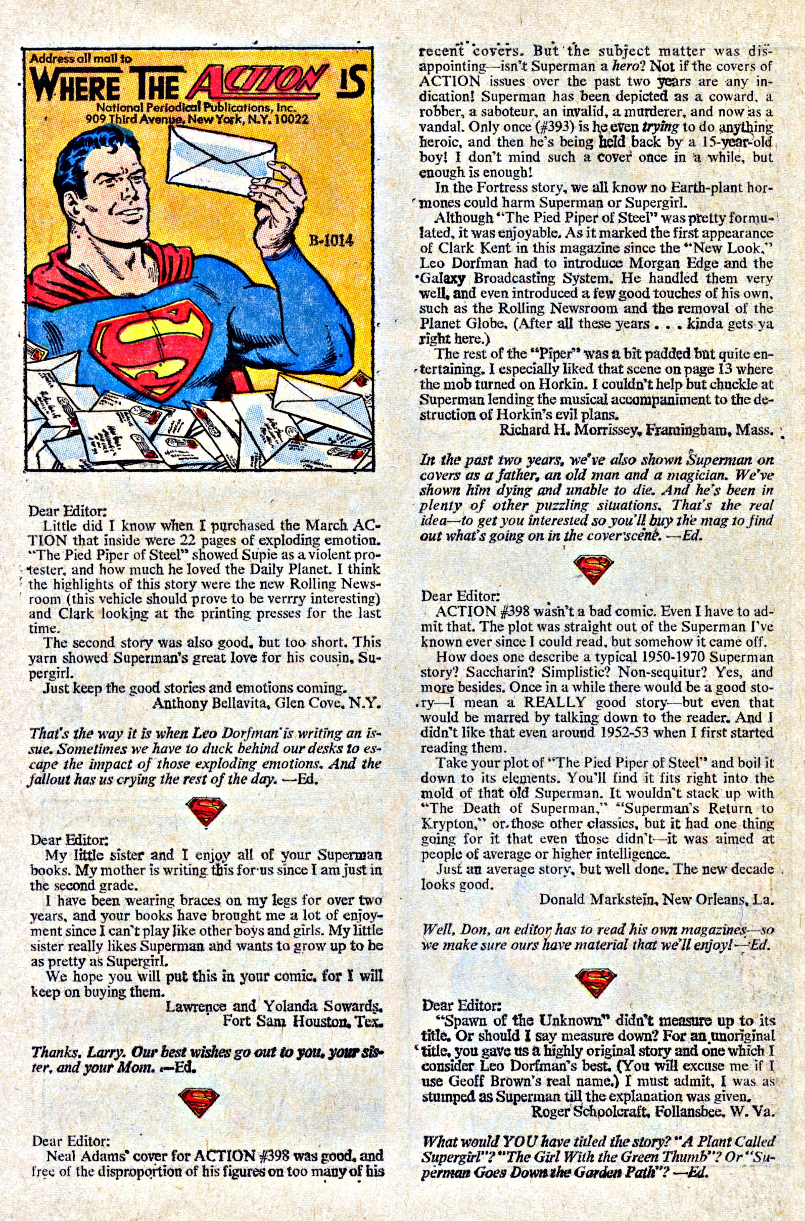 Read online Action Comics (1938) comic -  Issue #402 - 23