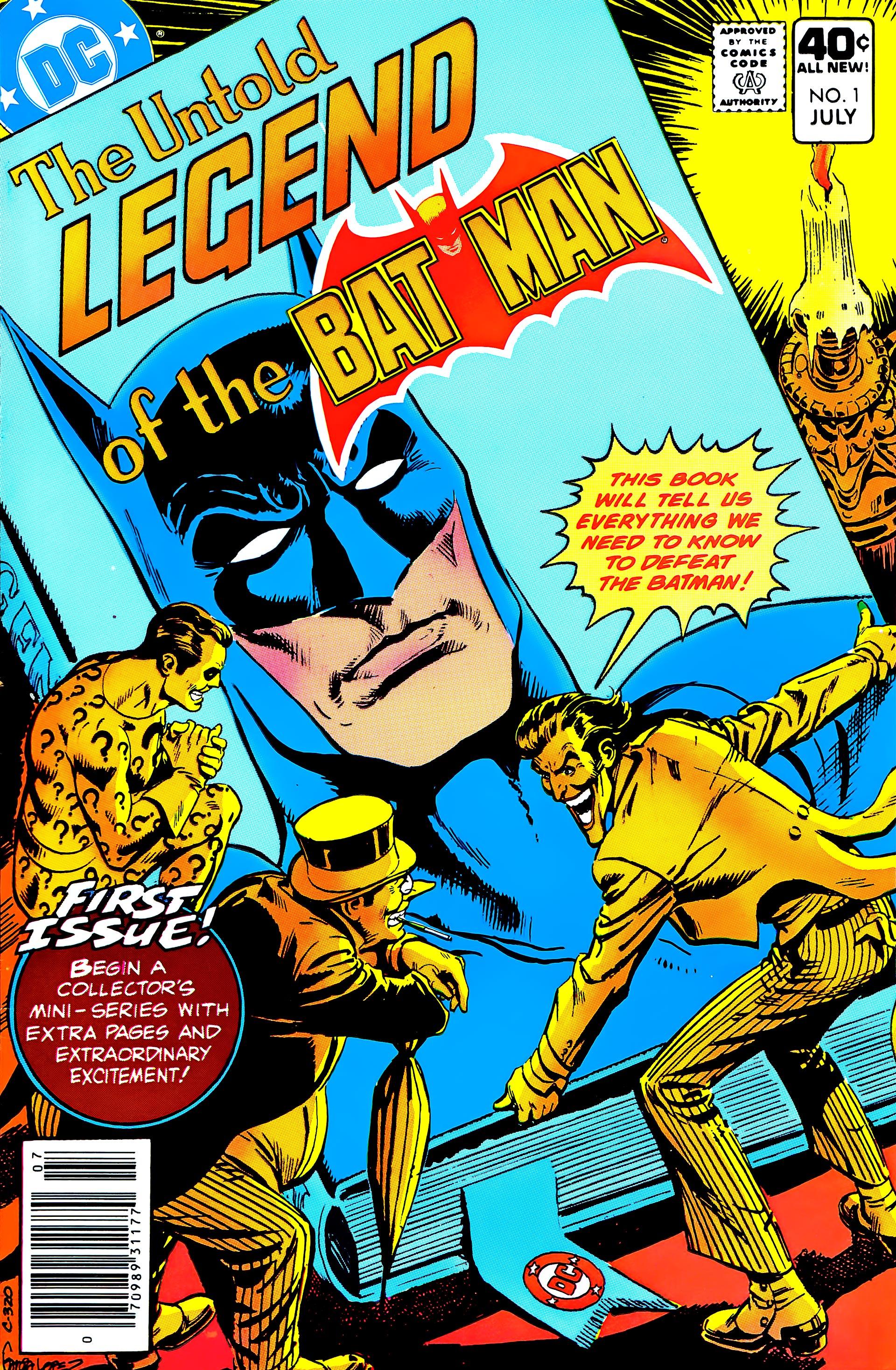 Untold Legend of the Batman 1 Page 1