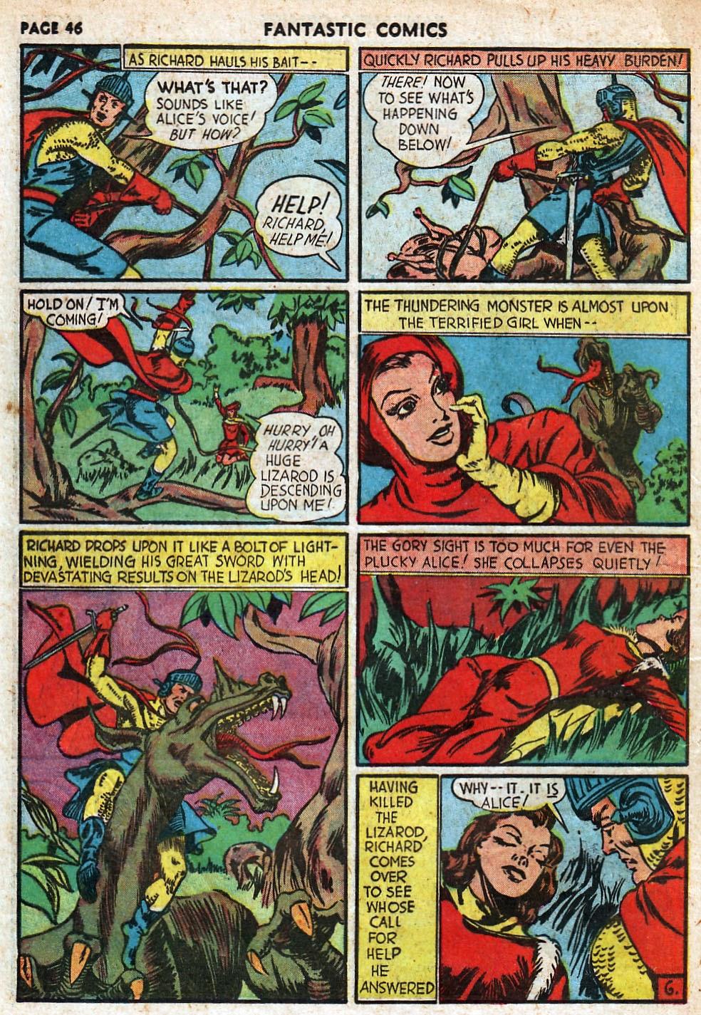 Read online Fantastic Comics comic -  Issue #18 - 48