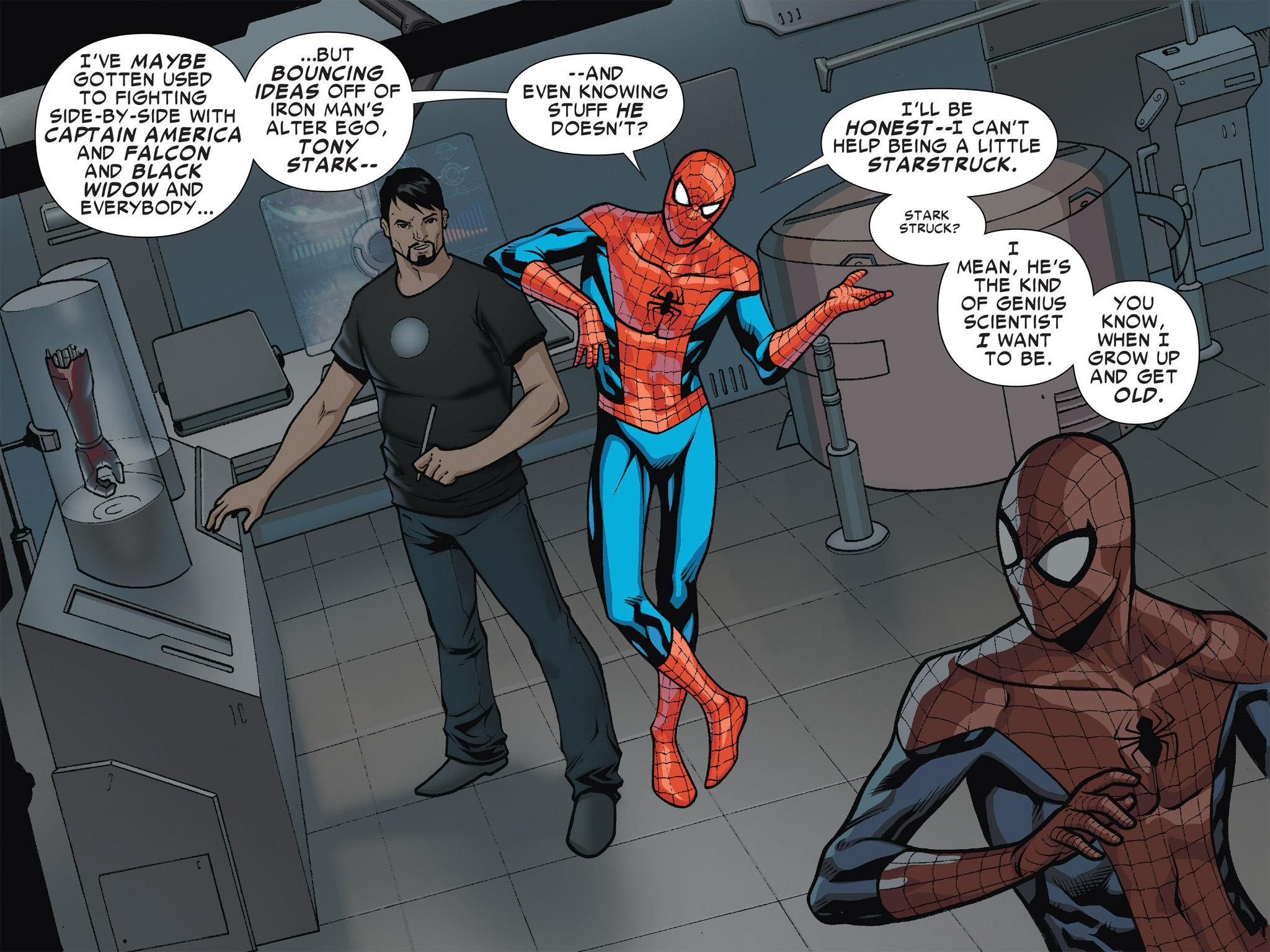 Read online Ultimate Spider-Man (Infinite Comics) (2016) comic -  Issue #4 - 8