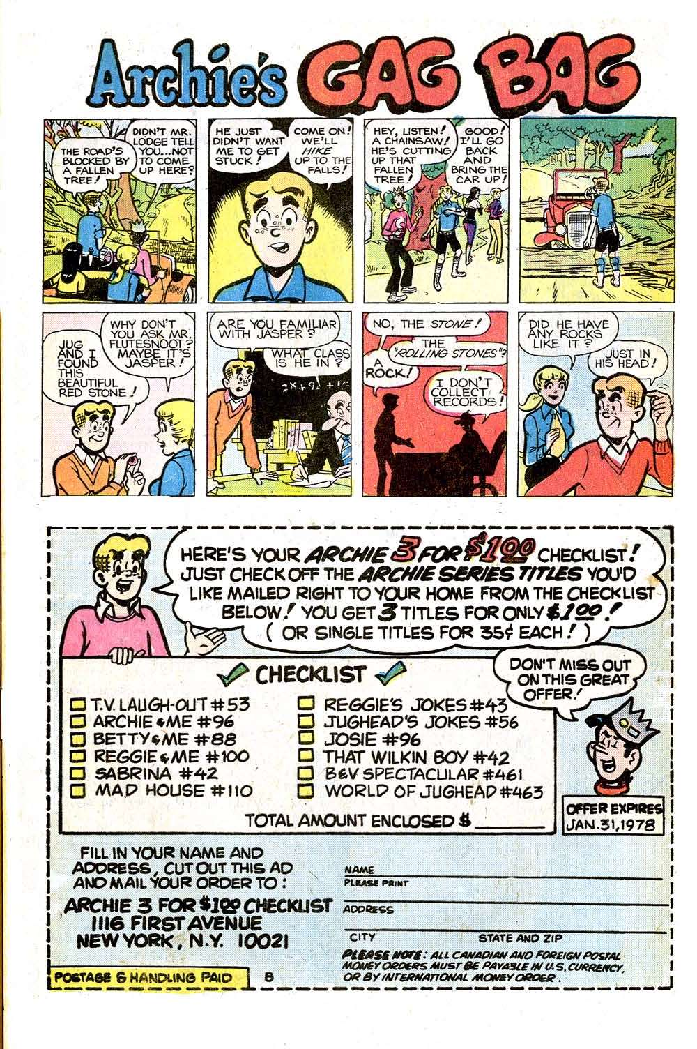 Read online Archie (1960) comic -  Issue #266 - 33