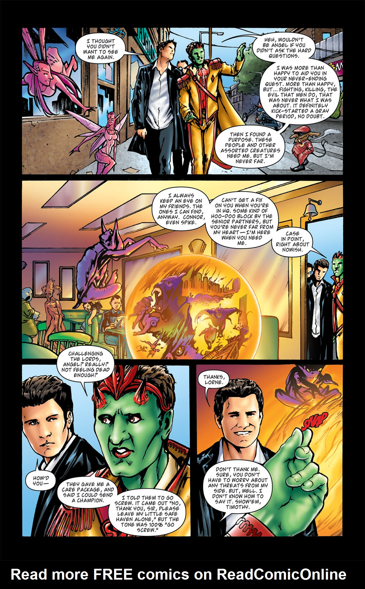 Read online Angel: After The Fall comic -  Issue #4 - 19