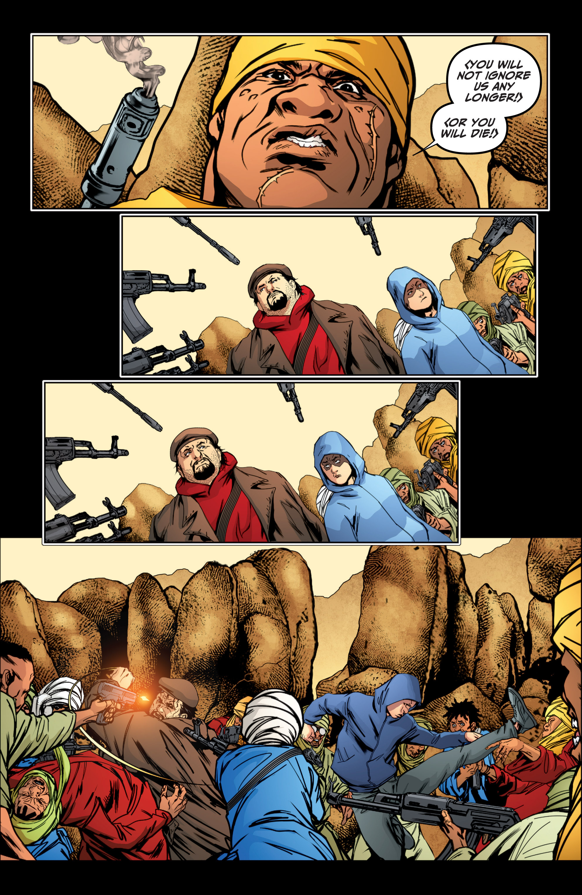 Read online Archer and Armstrong comic -  Issue #Archer and Armstrong _TPB 4 - 67