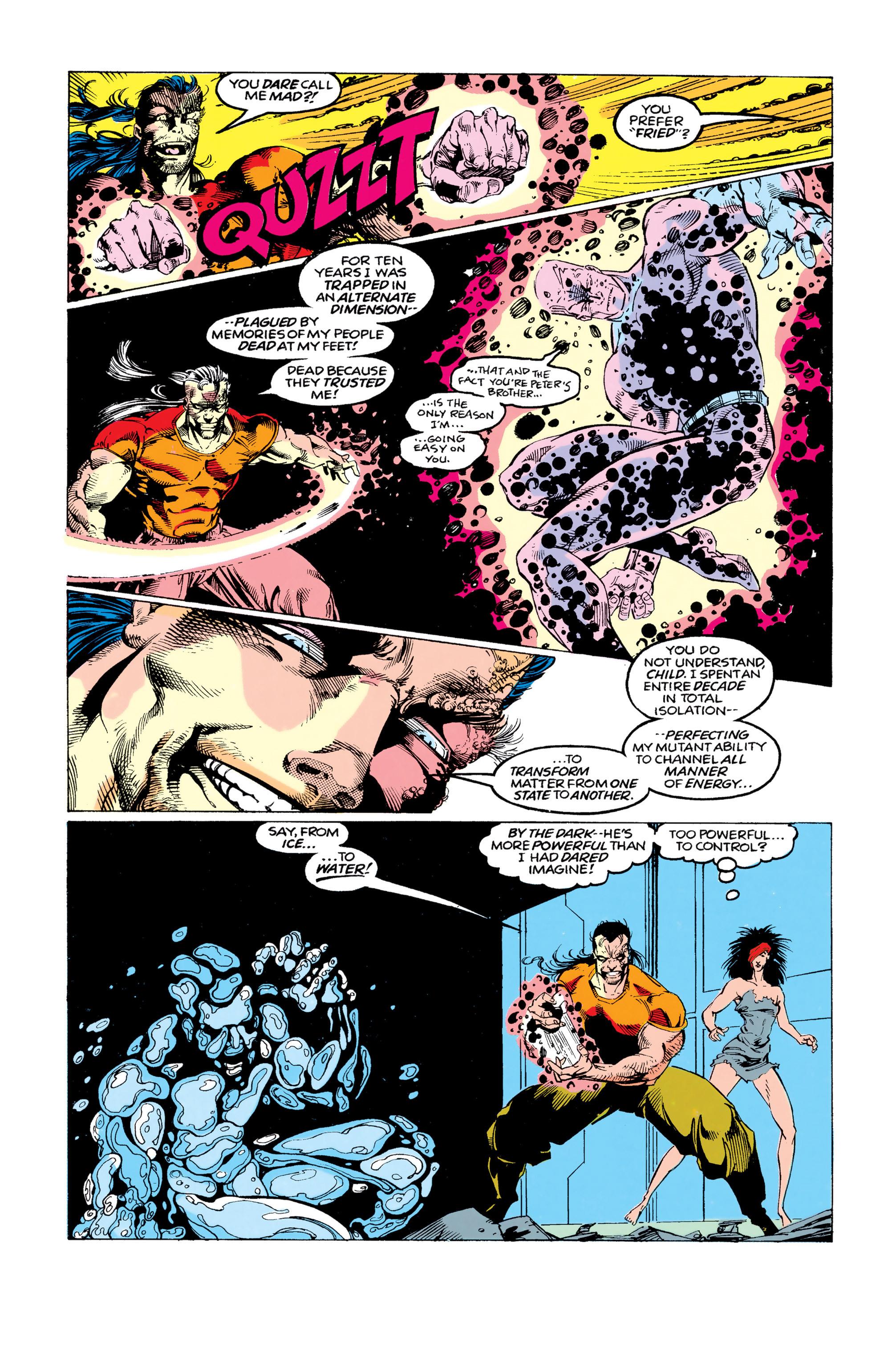 Read online Uncanny X-Men (1963) comic -  Issue #292 - 6