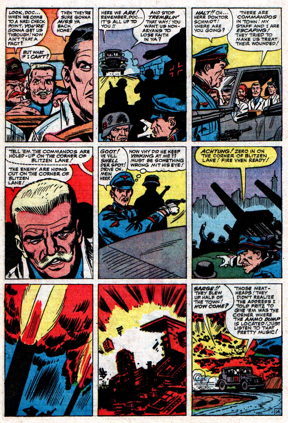 Read online Sgt. Fury comic -  Issue #8 - 20