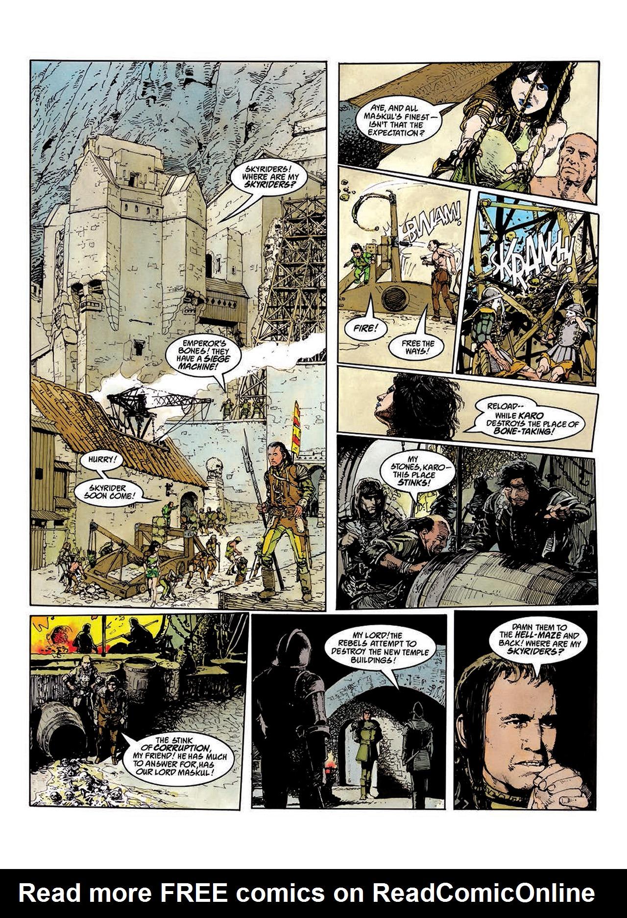 Read online Mazeworld comic -  Issue # TPB - 47