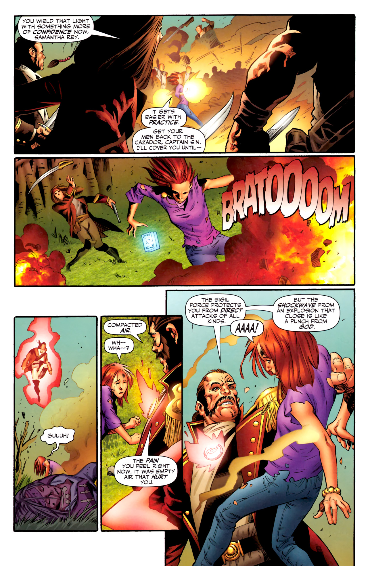 Read online Sigil (2011) comic -  Issue #4 - 11
