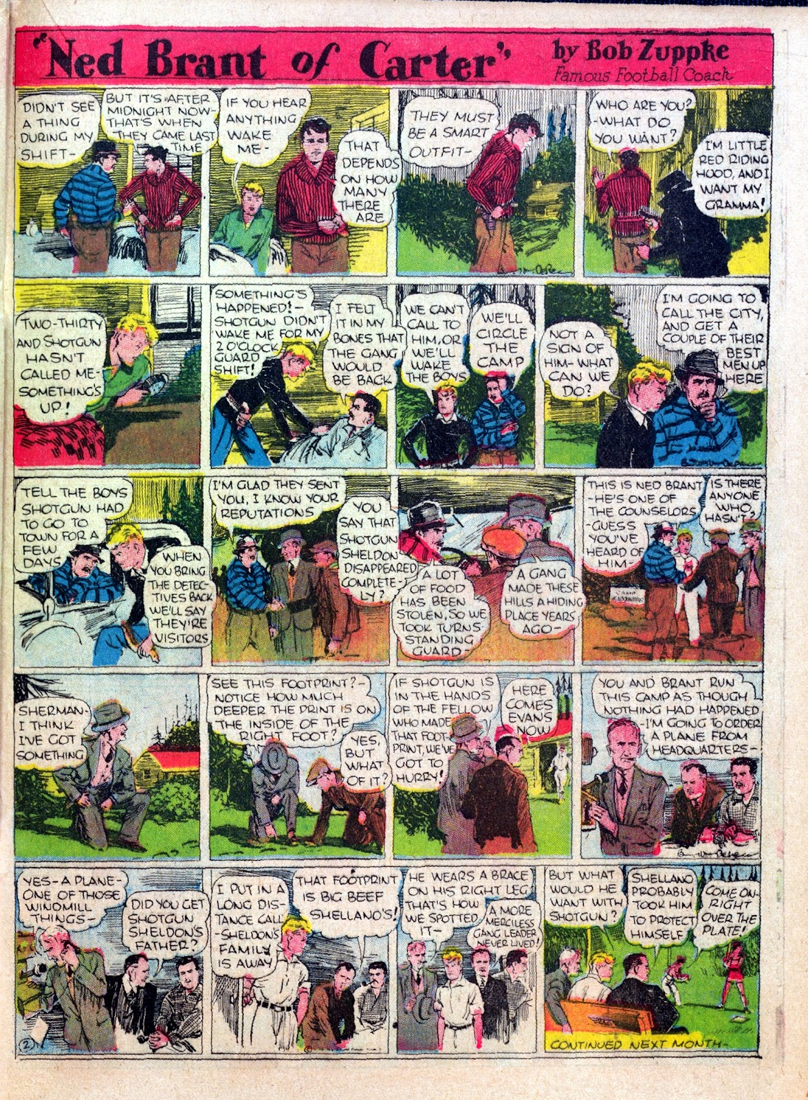 Read online Famous Funnies comic -  Issue #25 - 39