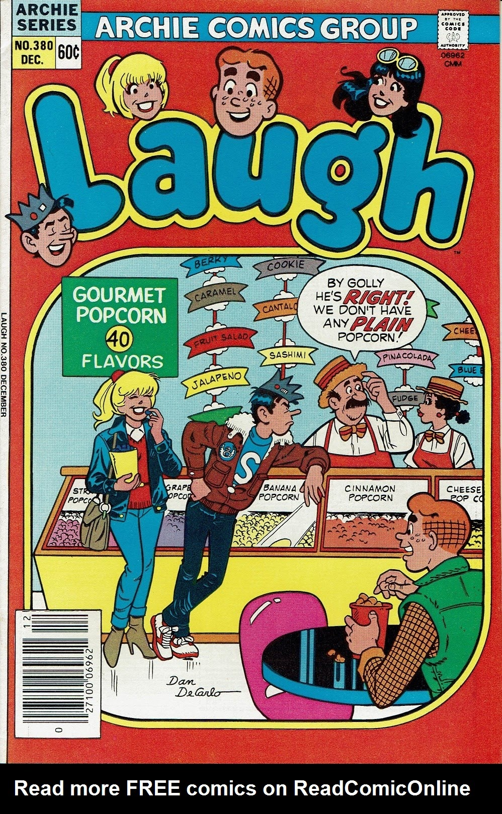 Laugh (Comics) 380 Page 1