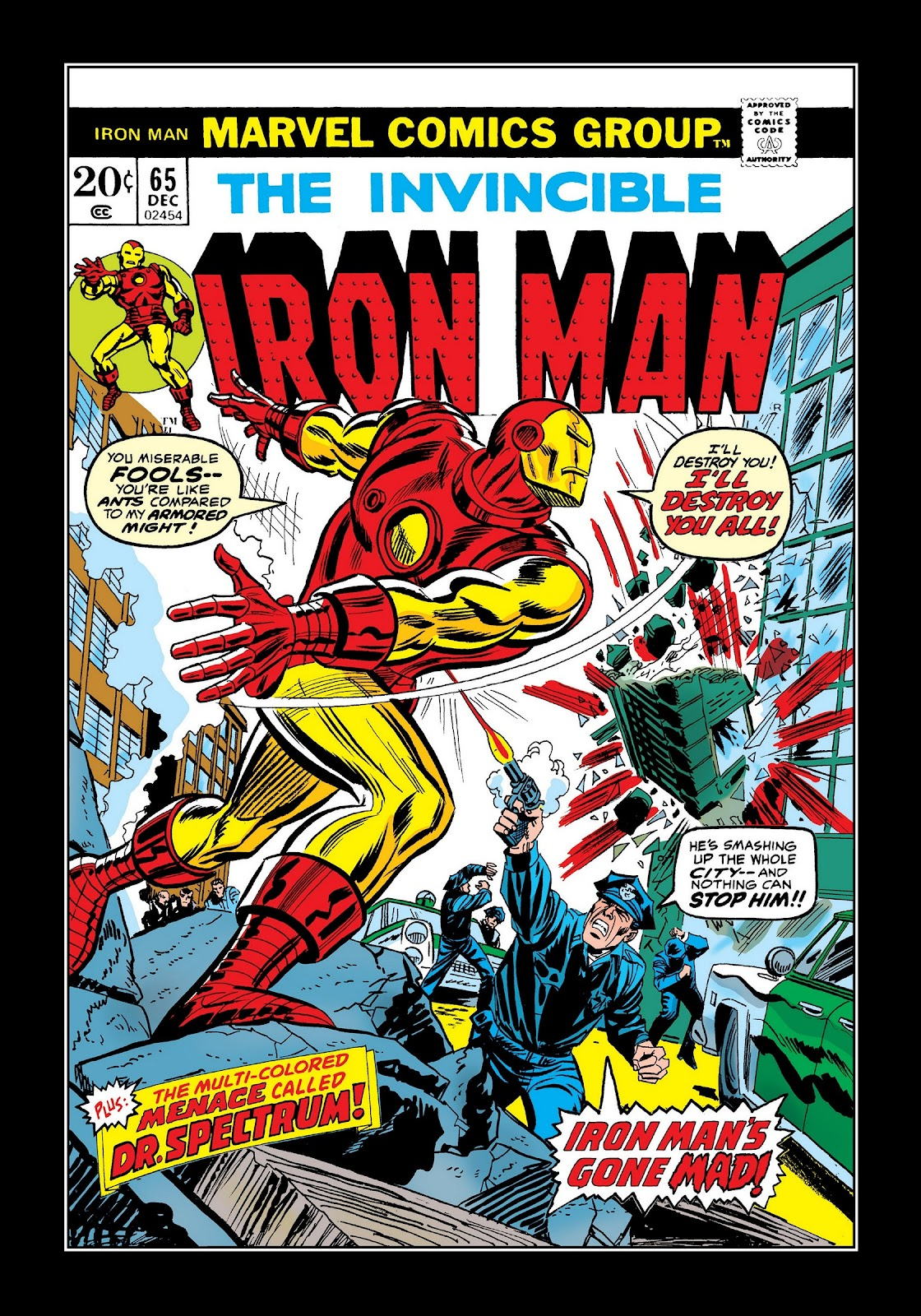 Read online Marvel Masterworks: The Invincible Iron Man comic -  Issue # TPB 9 (Part 3) - 33