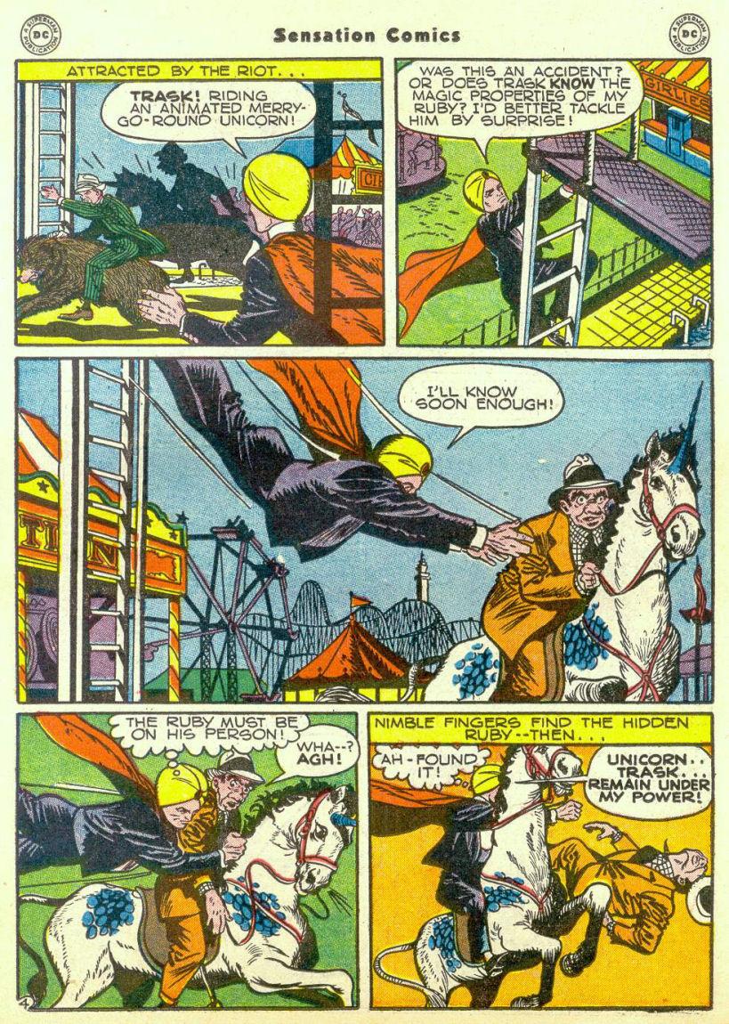 Read online Sensation (Mystery) Comics comic -  Issue #67 - 35