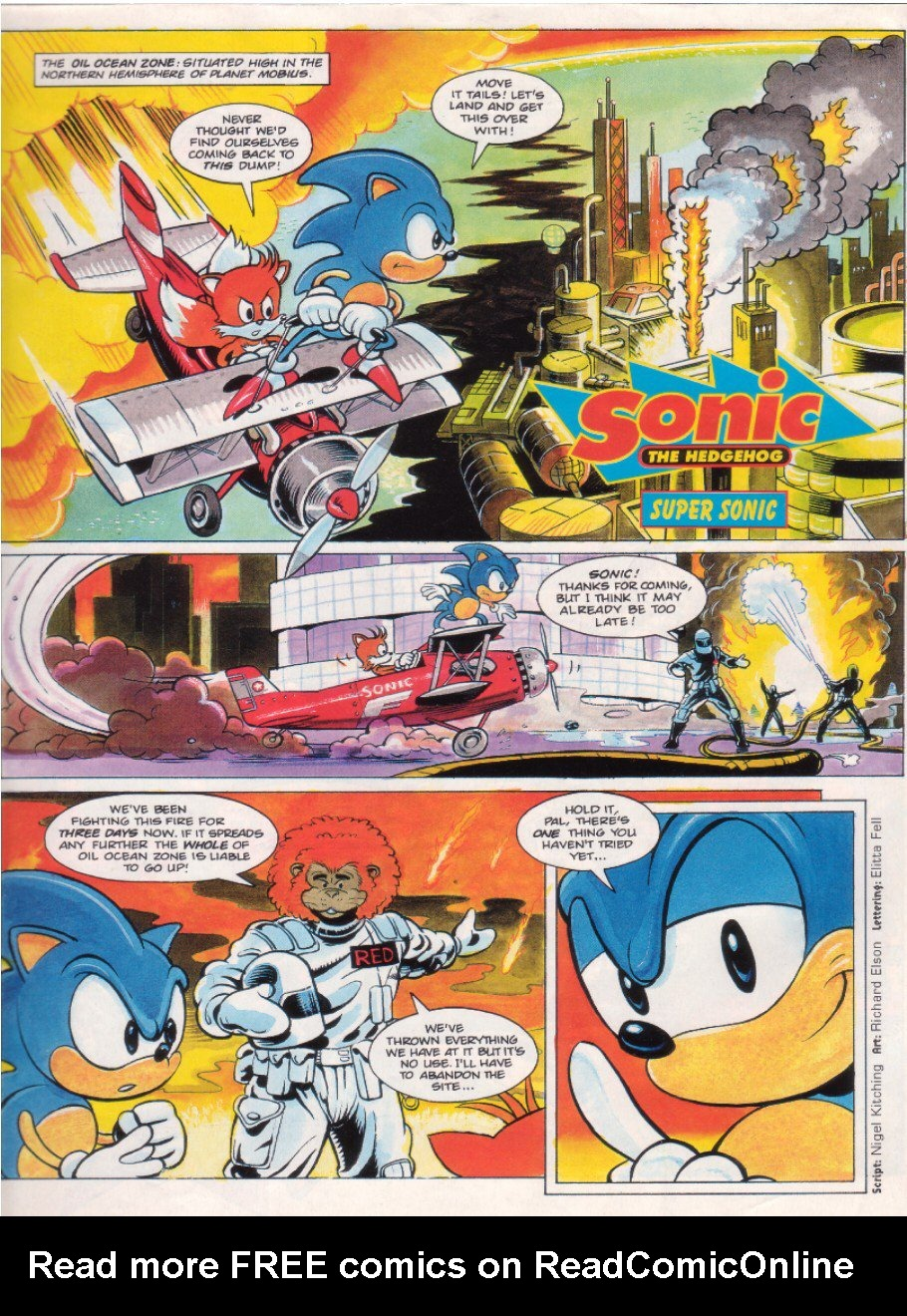 Read online Sonic the Comic comic -  Issue #7 - 3